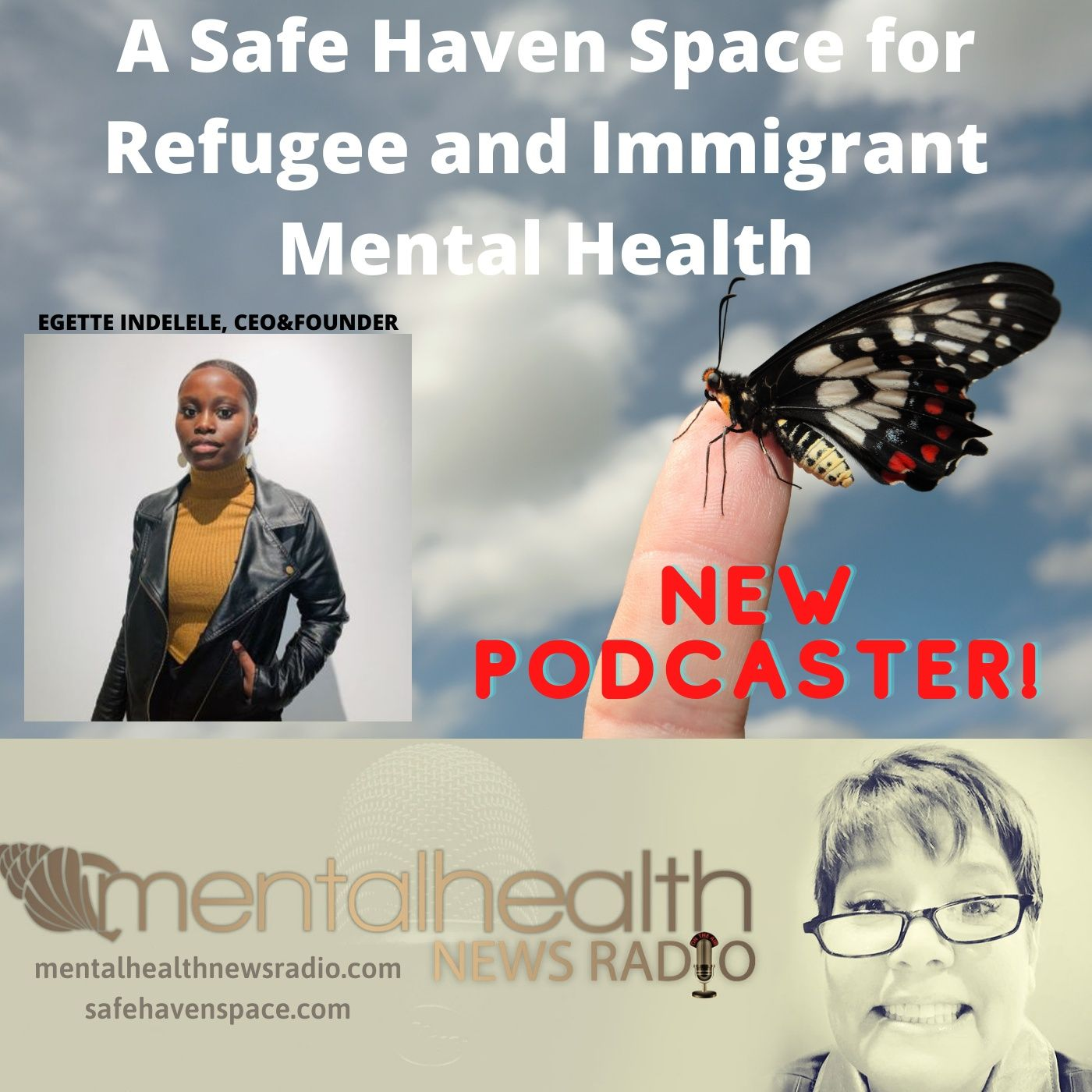Mental Health News Radio - A Safe Haven Space for Refugee and Immigrant Mental Health