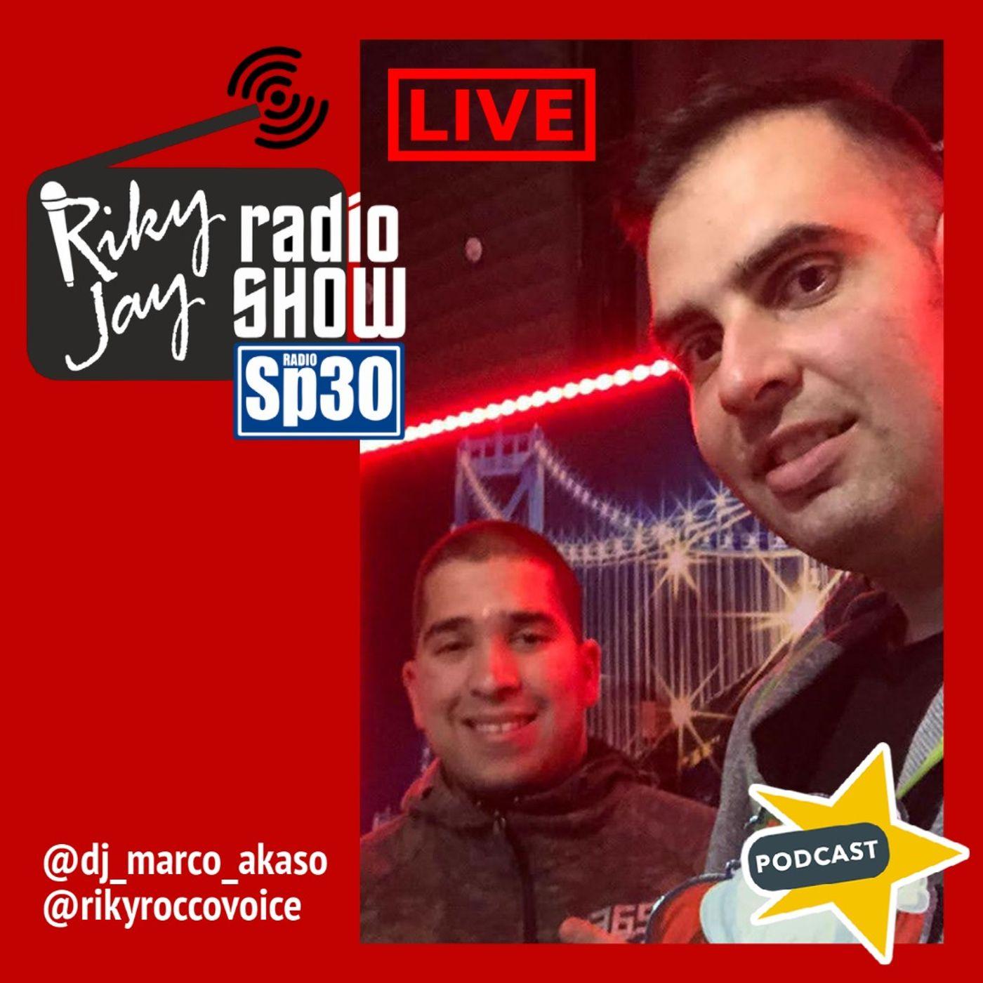 capodanno in diretta RIKYJAY RADIO SHOW