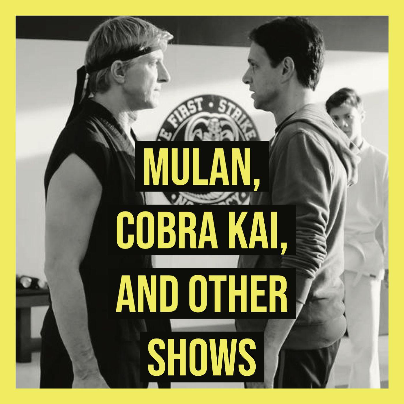 Mulan, Cobra Kai, and Other Shows