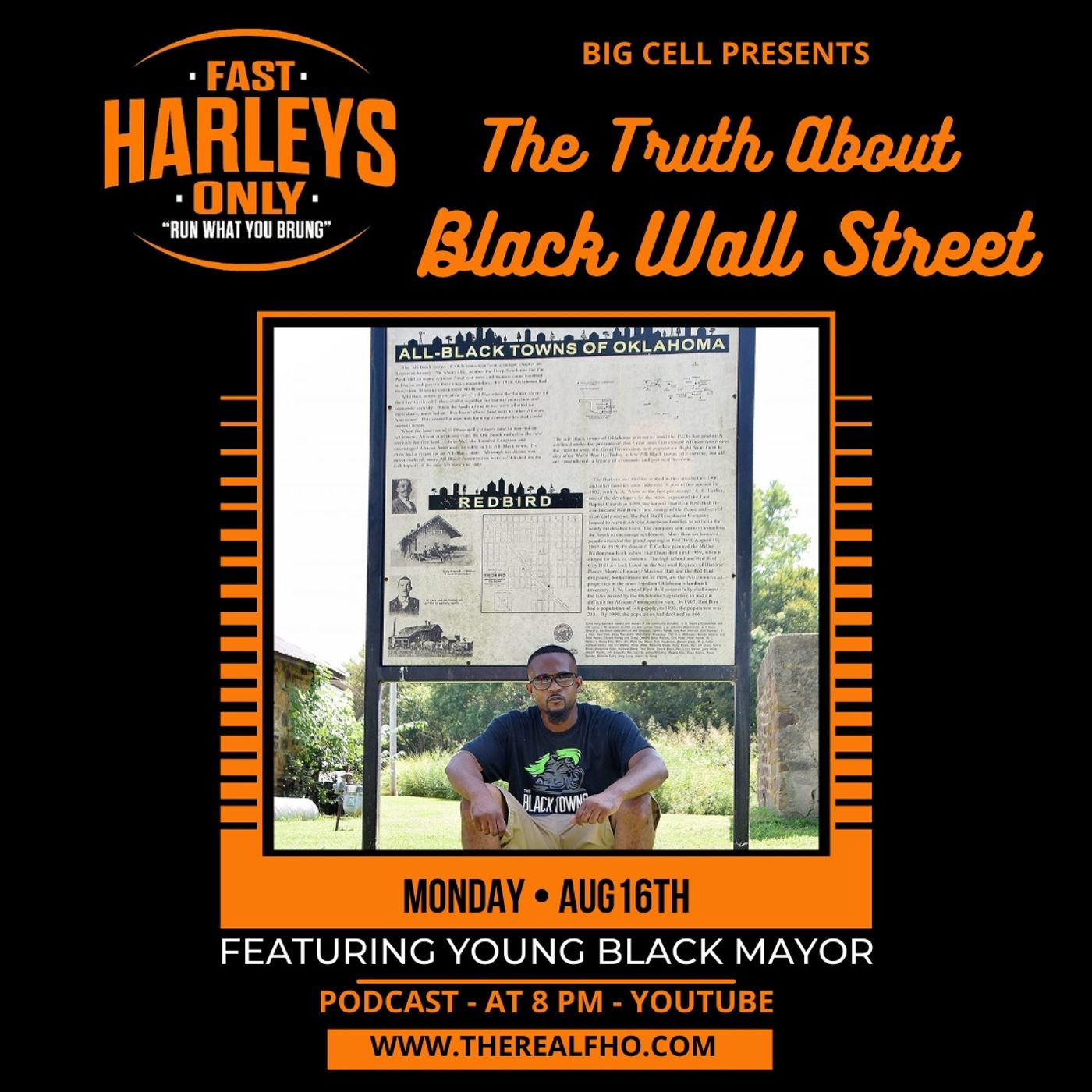DISCUSSION WITH THE YOUNG BLACK TOWNS MAYOR