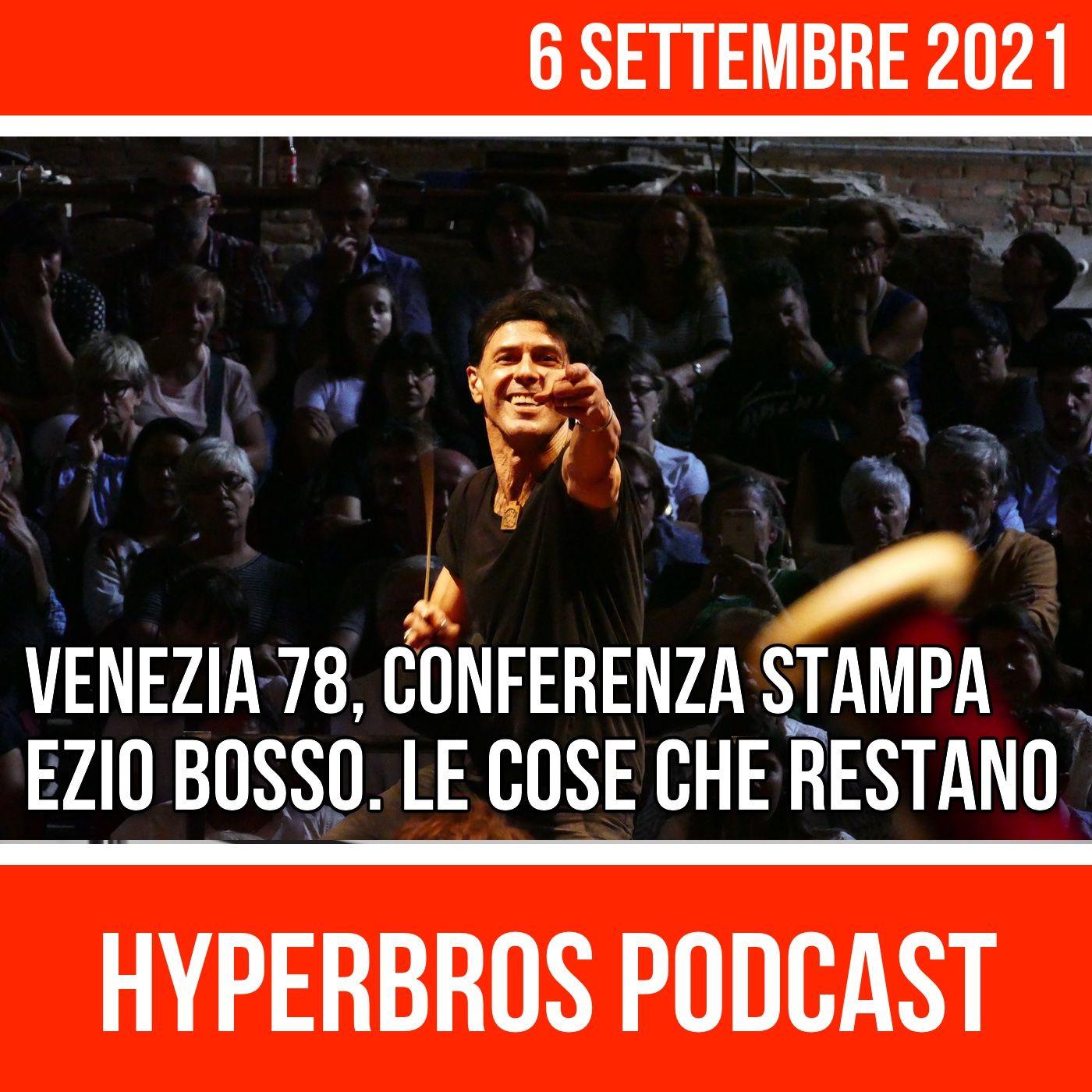 """Venezia 78, conferenza stampa film documentario """"Ezio Bosso. Le cose che restano"""""""