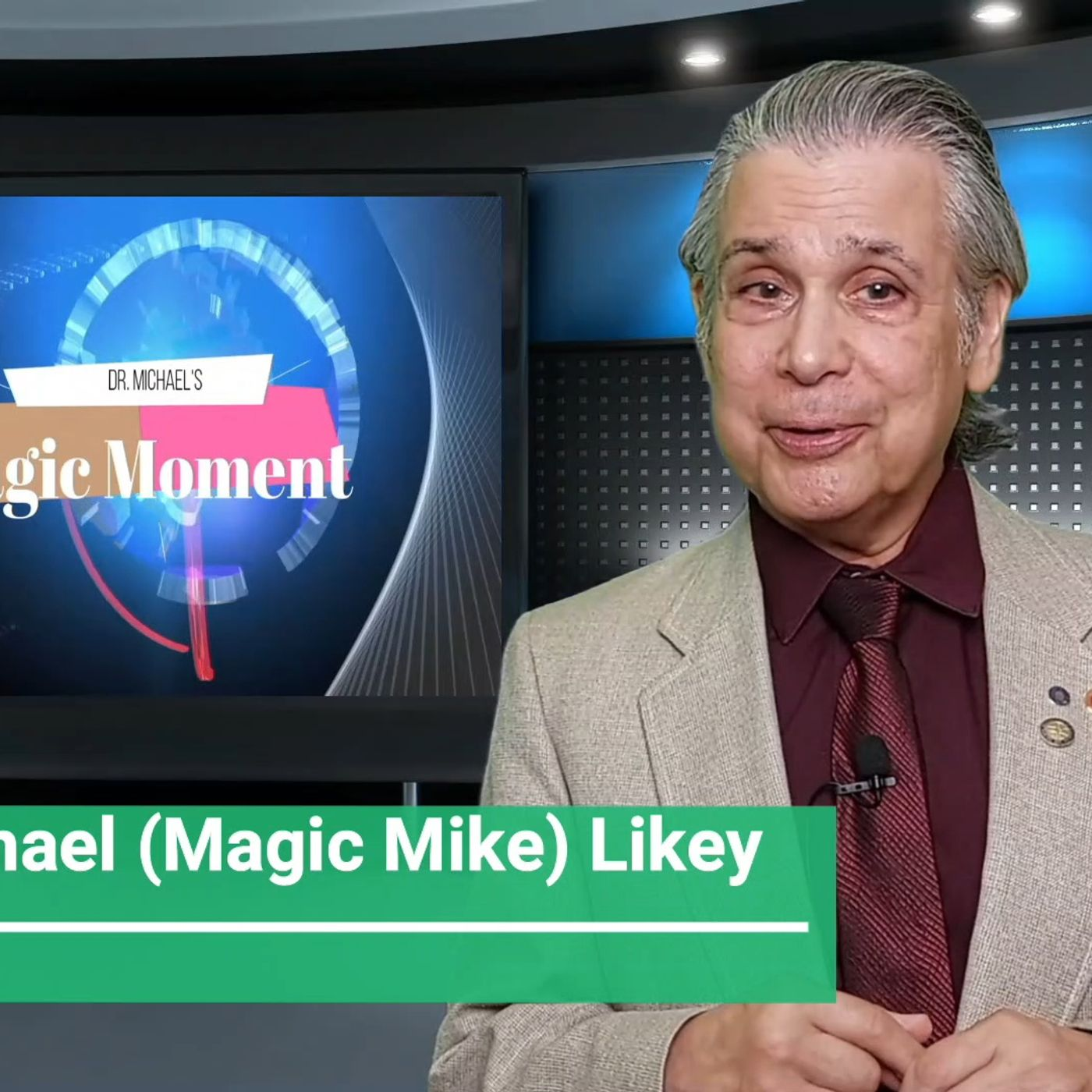 Dr. Michael's One-Minute Magic Moment-BEING IN THE MOMENT