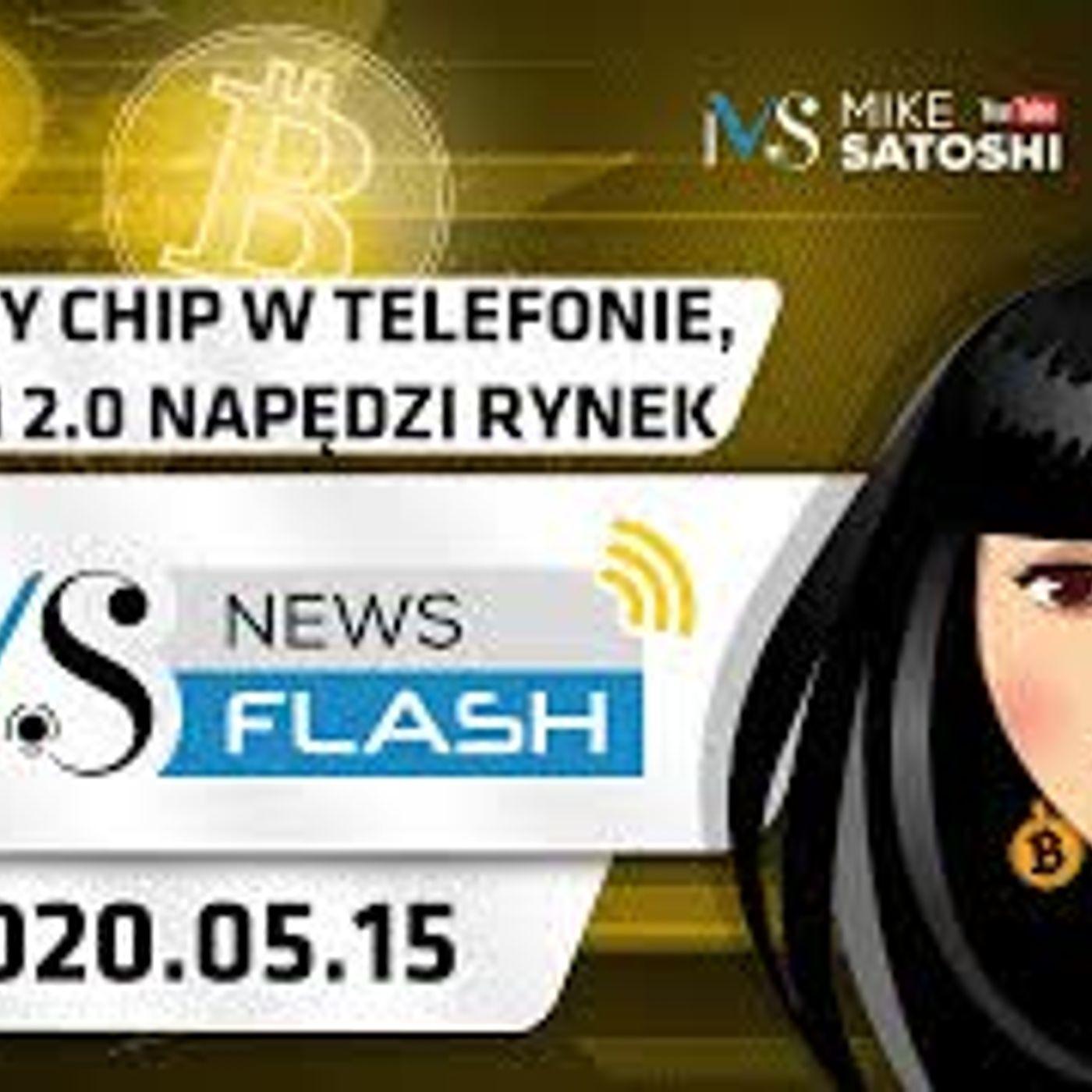 NewsFlash | 15.05.2020 | Ethereum 2.0 napędzi rynek krypto, Kwantowy chip w telefonach Samsung