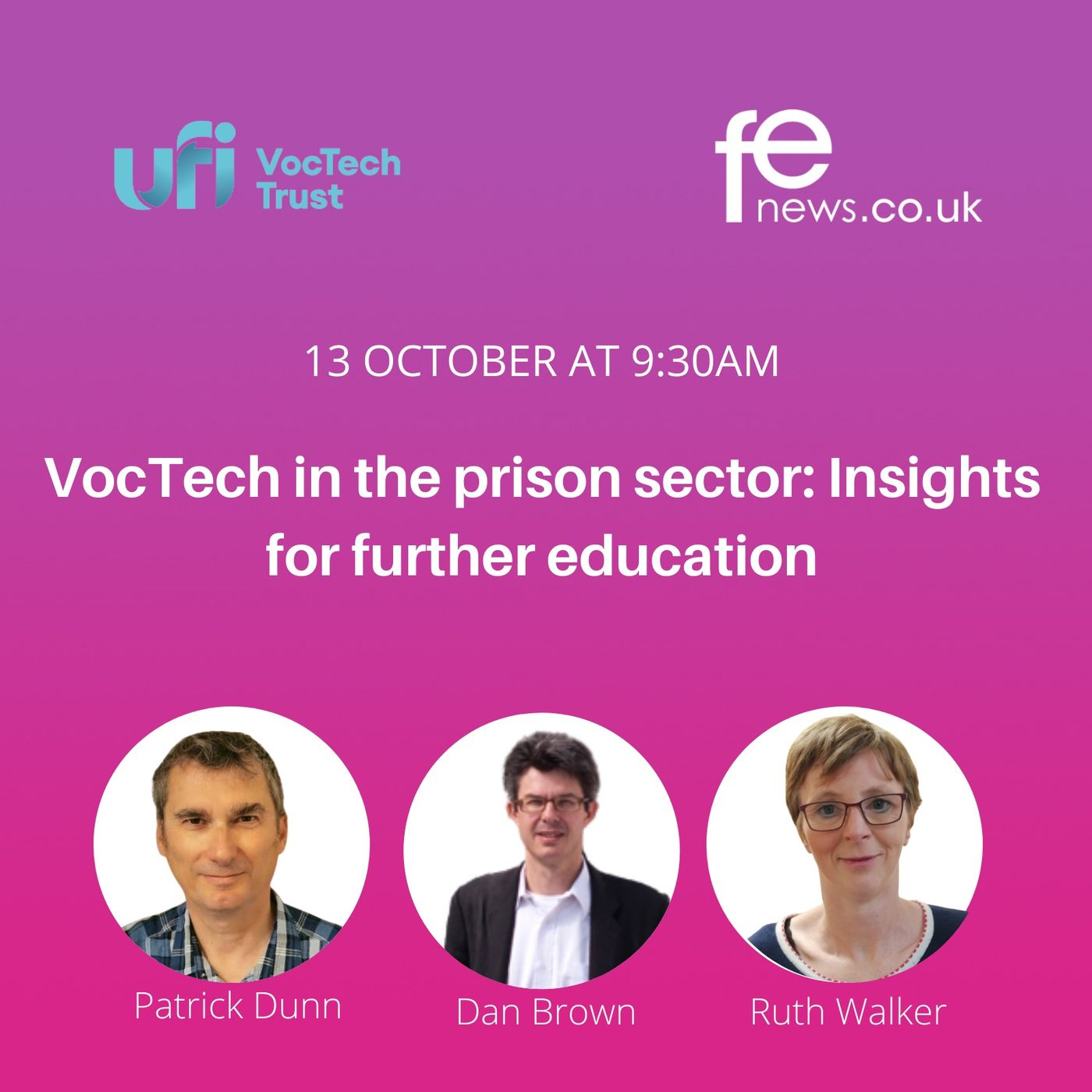 VocTech in the prison sector: Insights for further education #VocTechFutures Episode 2