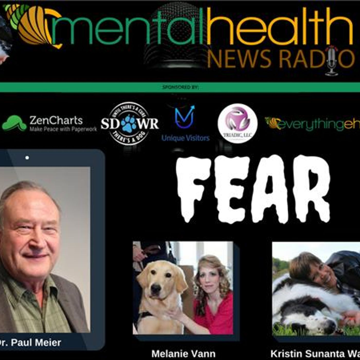 Mental Health News Radio - Round Table Discussions with Dr. Paul Meier: FEAR