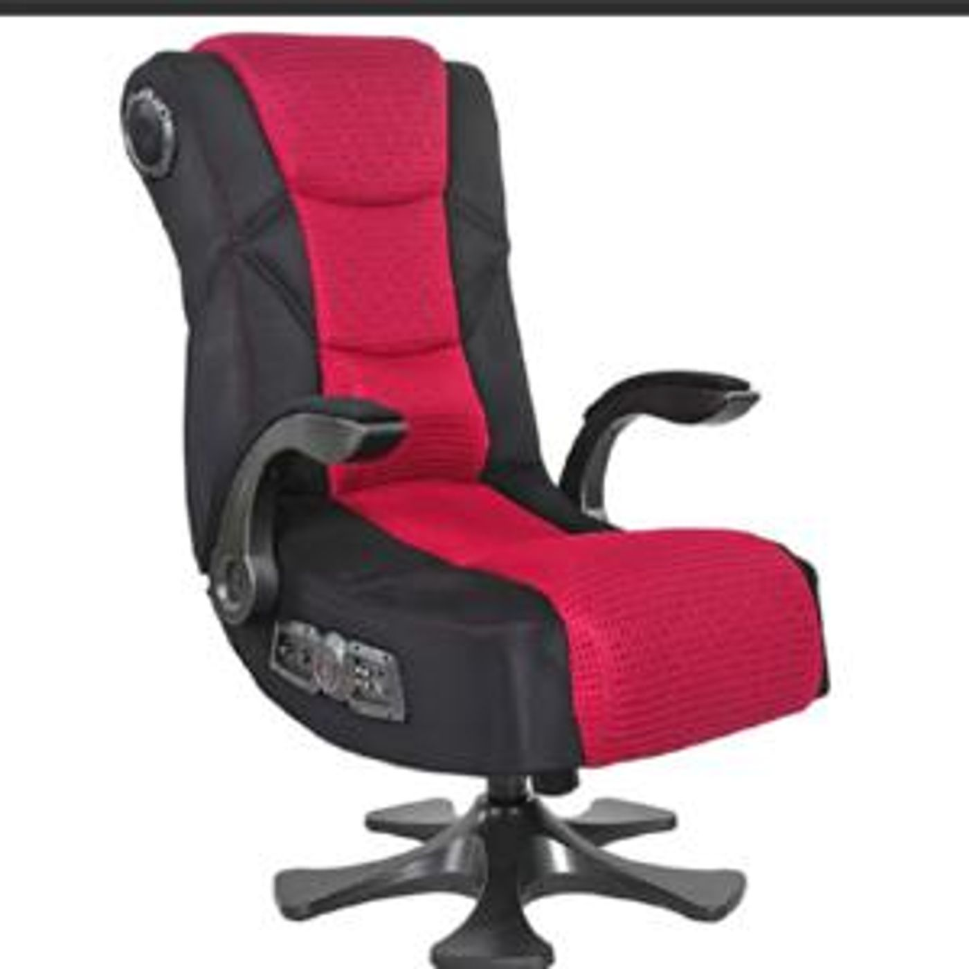 Una silla para editar podcast