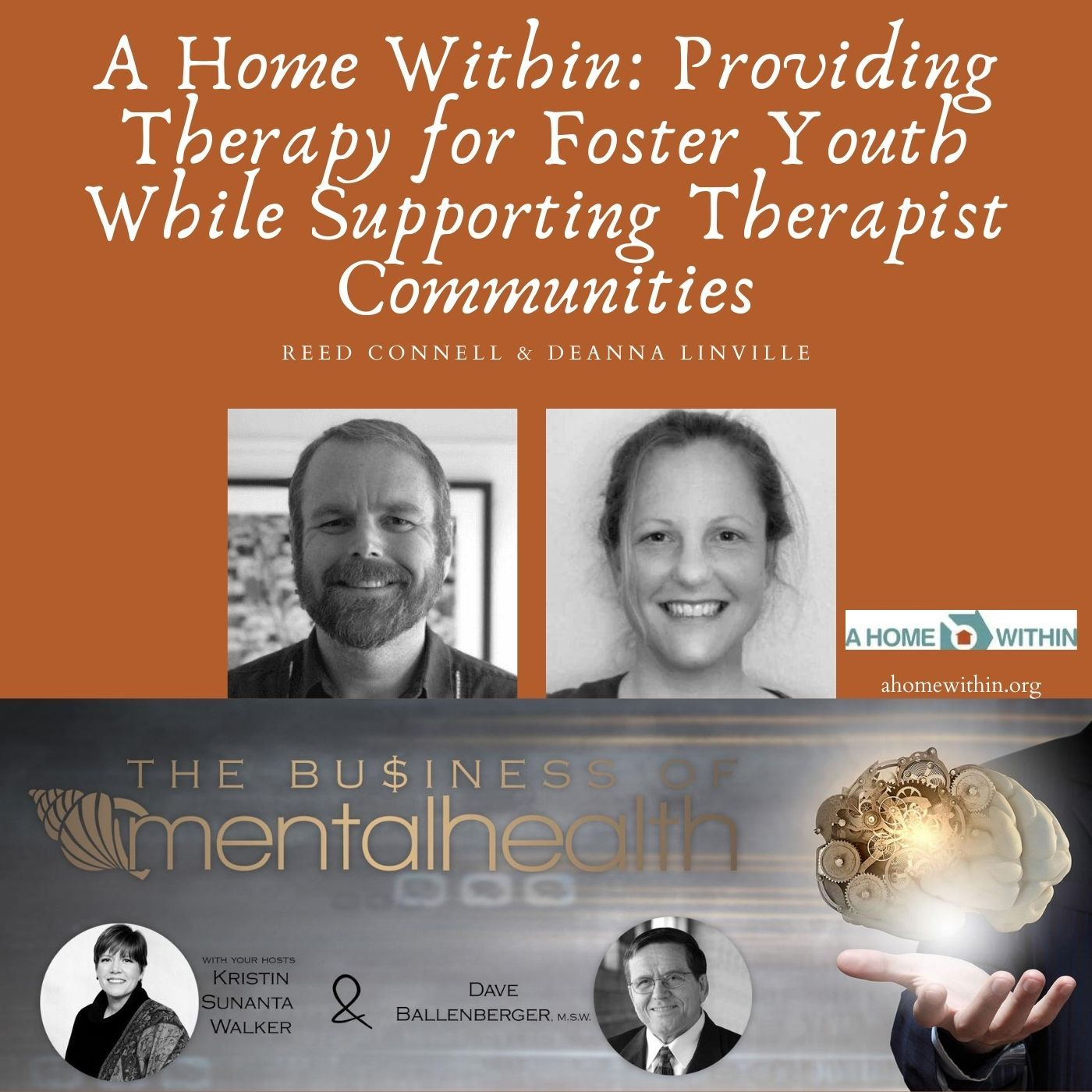 Mental Health News Radio - A Home Within: Providing Therapy for Foster Youth While Supporting Therapist Communities