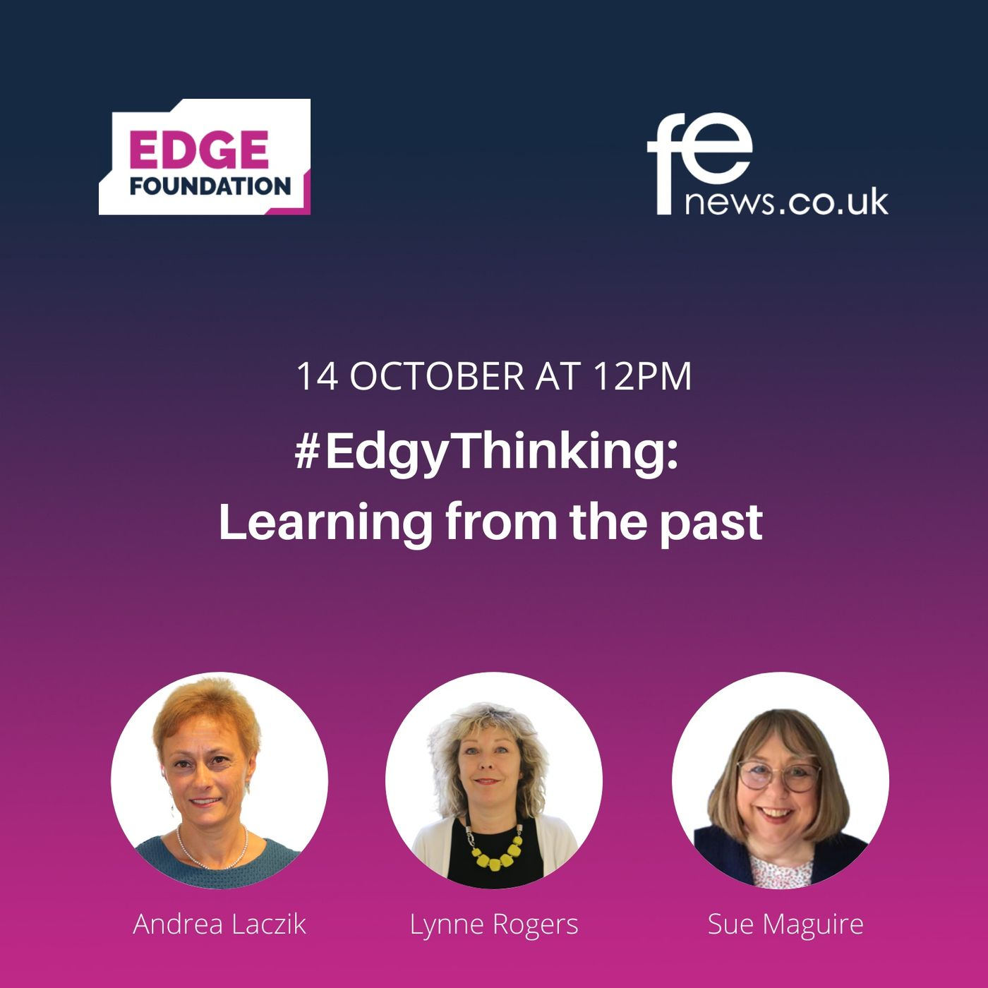 Learning from the past #EdgyThinking Episode 3