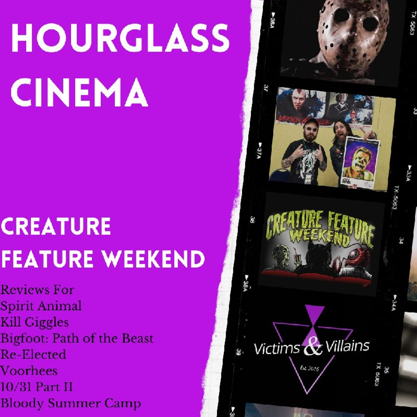 Creature Feature Weekend 2021   Hourglass Cinema #8