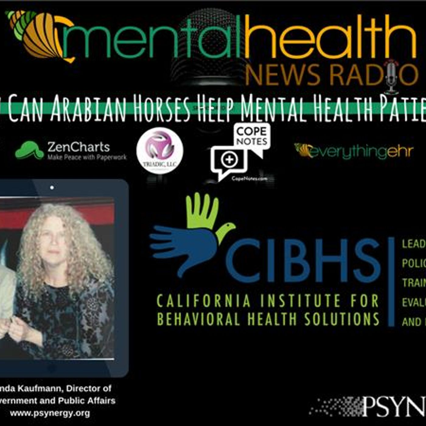 Mental Health News Radio - How Can Arabian Horses Help Mental Health Patients?