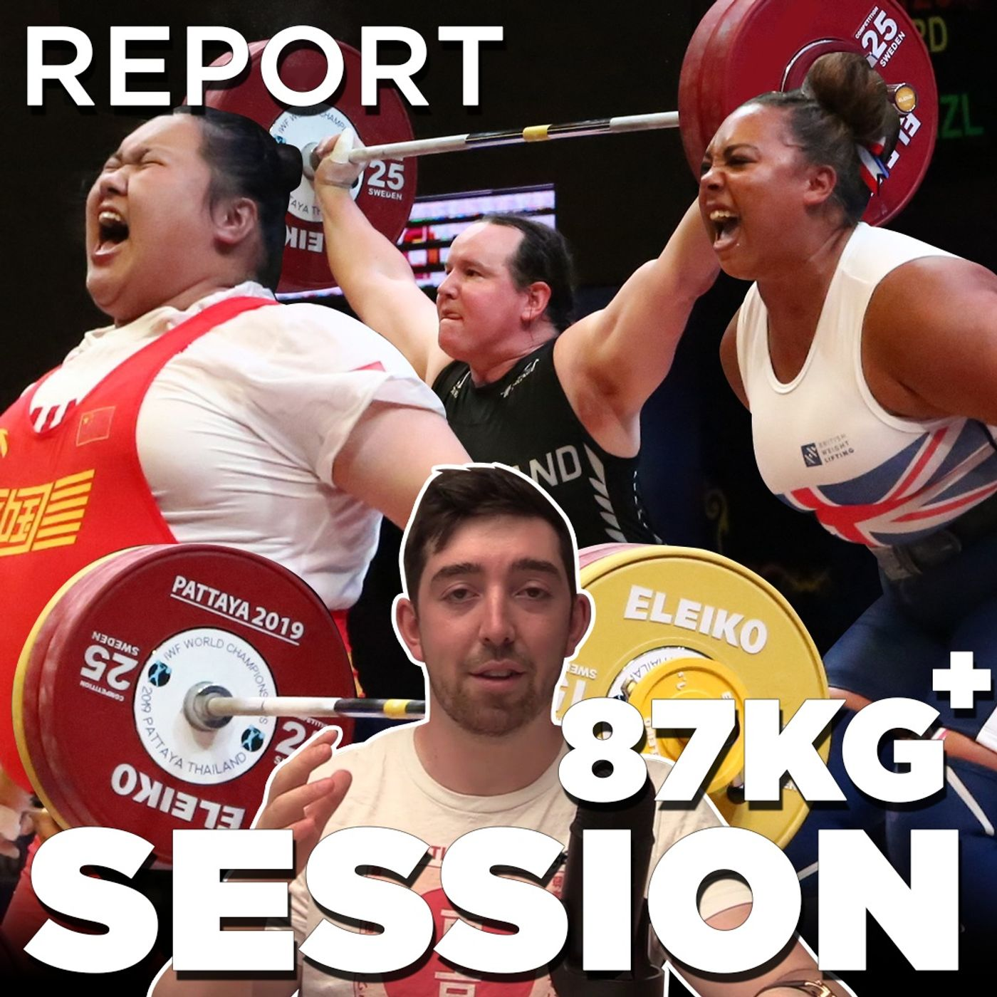 Tokyo Weightlifting W+87 | REPORT