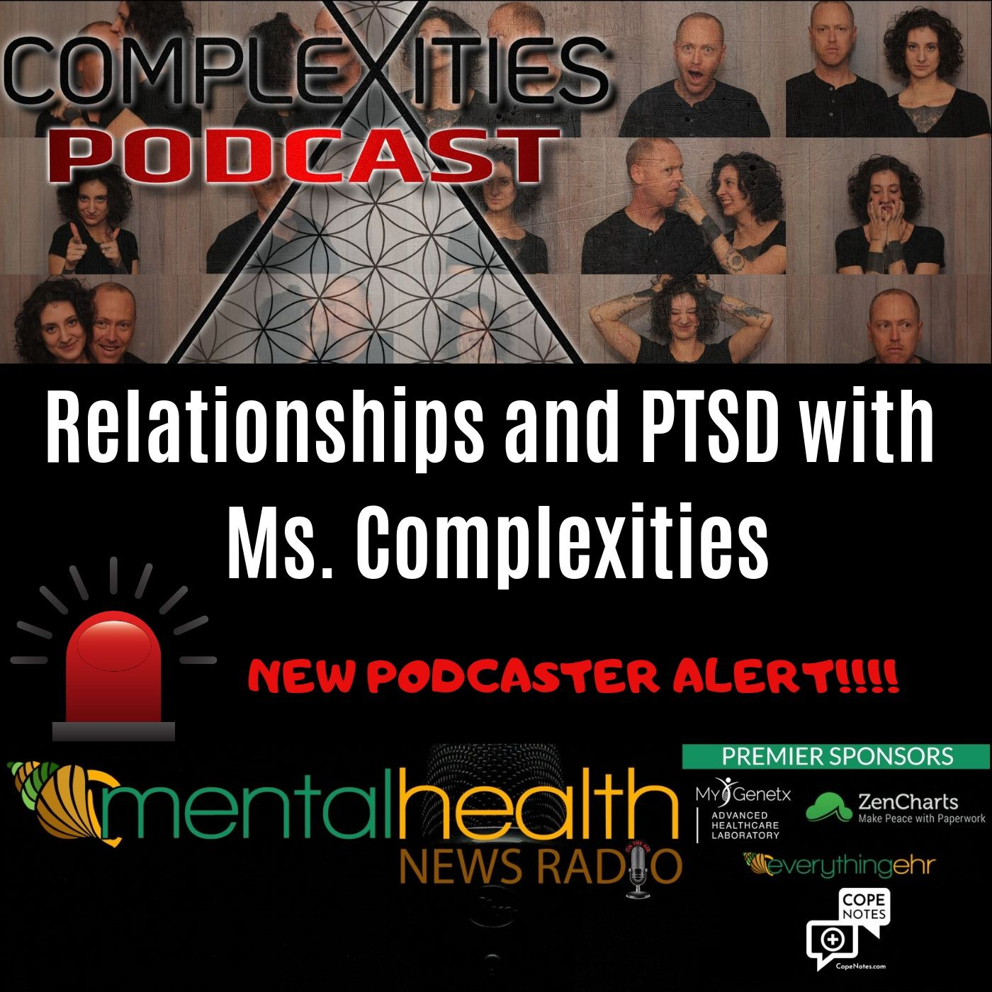 Mental Health News Radio - Relationships and PTSD with Ms. Complexities