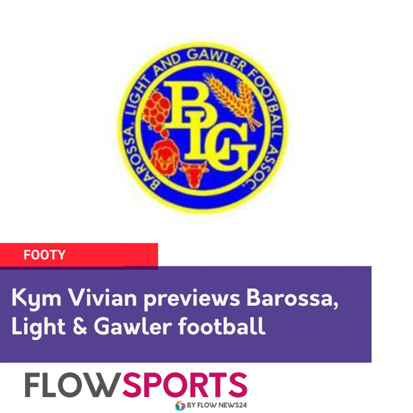 Kym Vivian previews round 9 of Barossa Light & Gawler Football