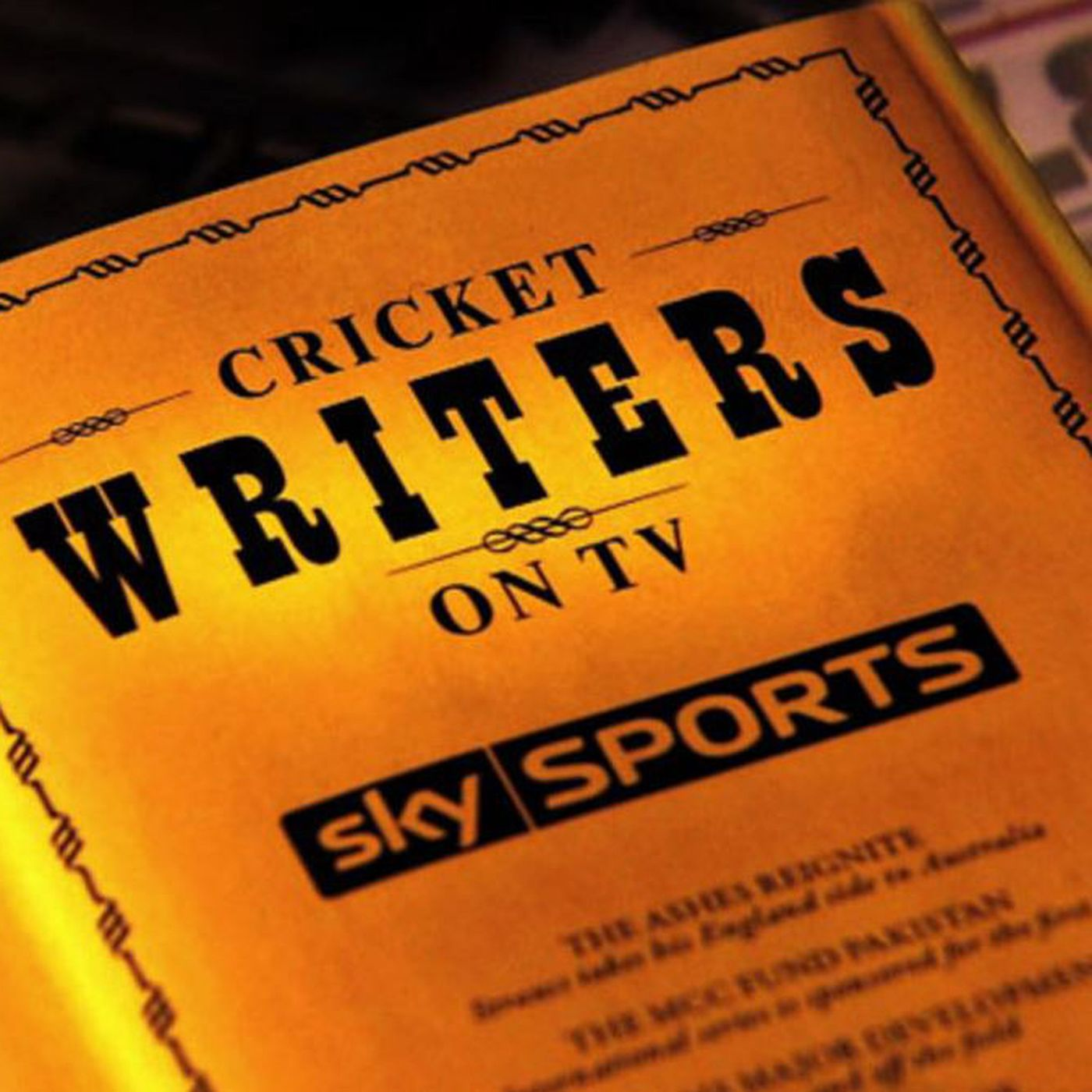 Cricket Writers on TV - July 16th