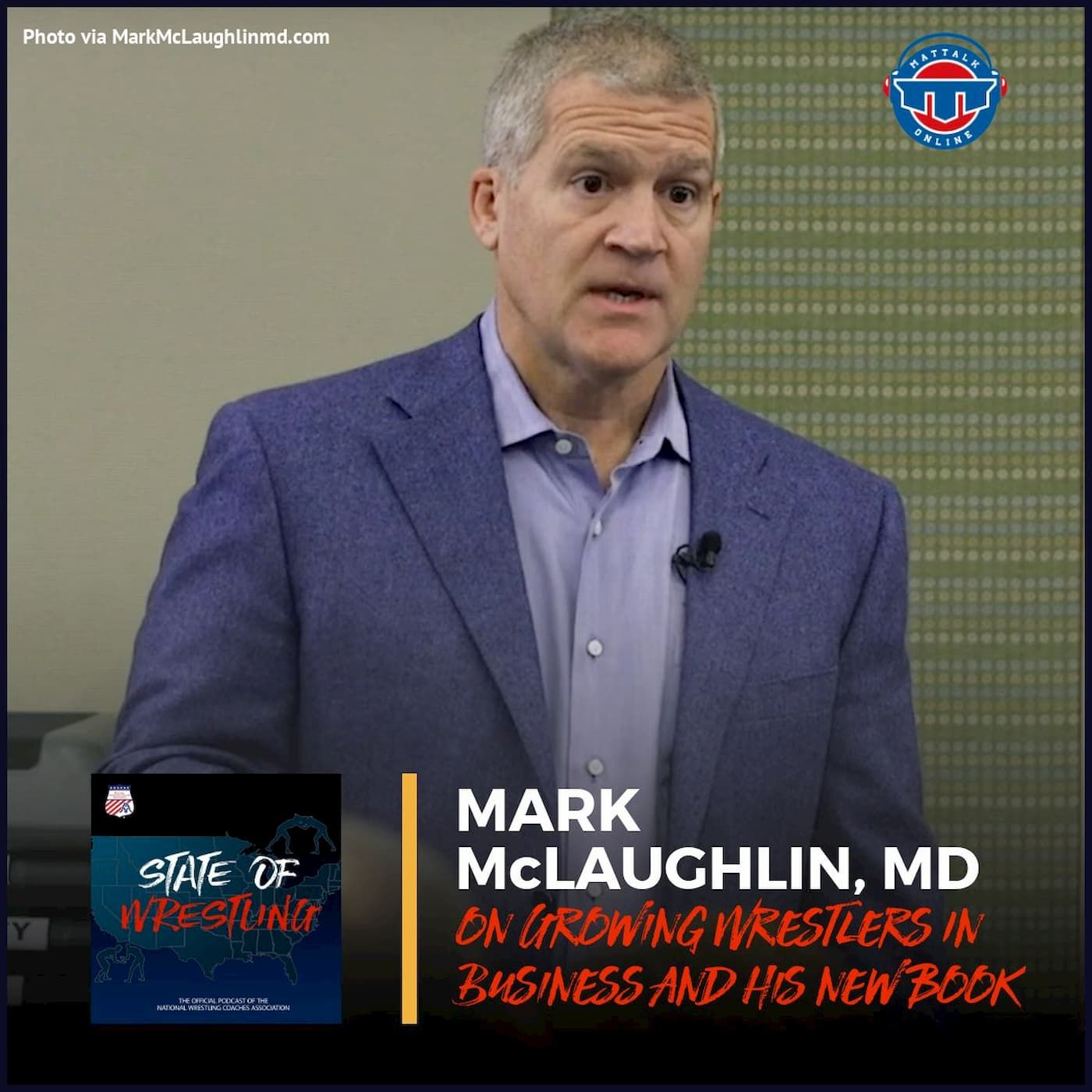 Dr. Mark McLaughlin on the WIBN and his book, Cognitive Dominance