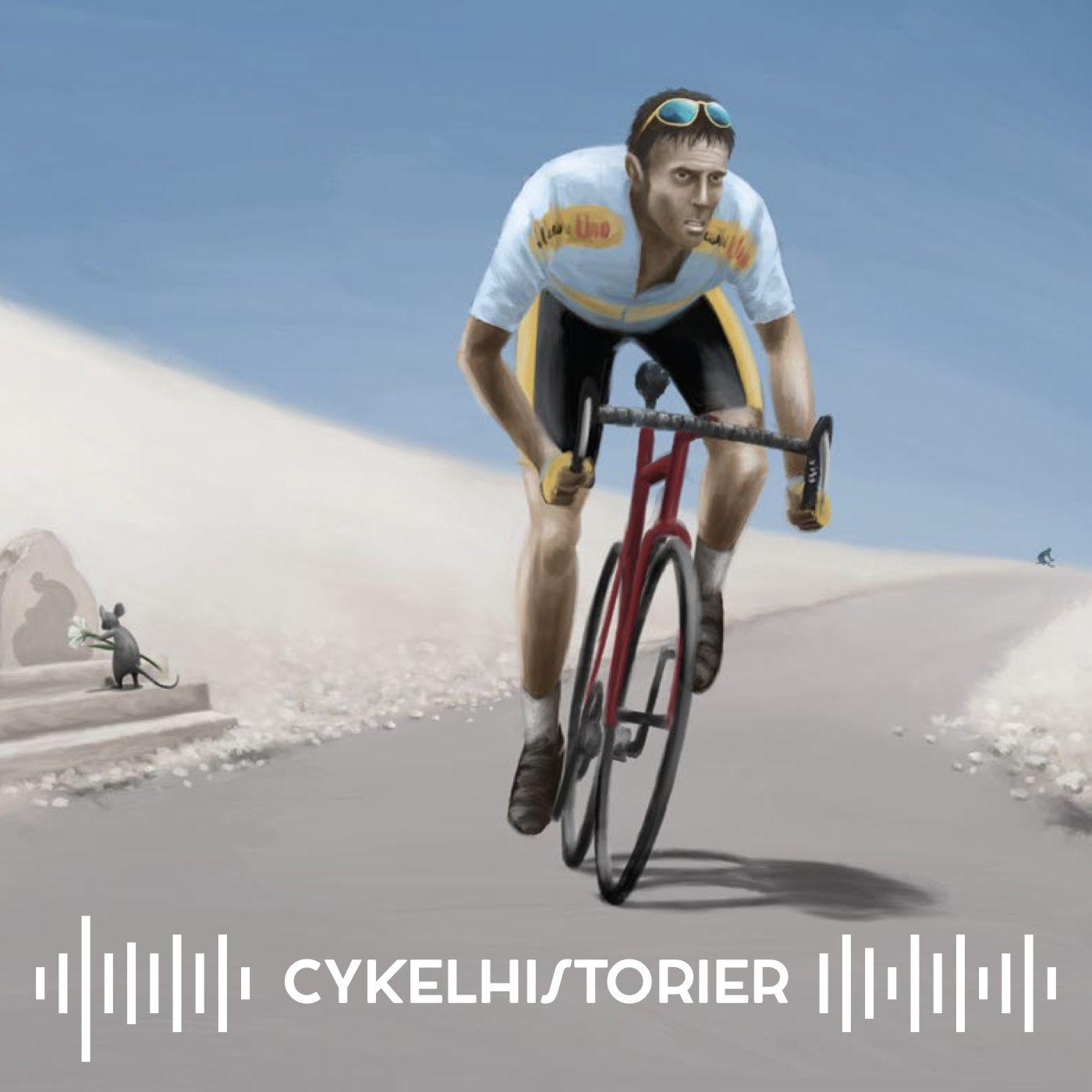 EP06 Giganten på Det Skaldede Bjerg ·Eros Poli · Mont Ventoux · Tour de France 1994