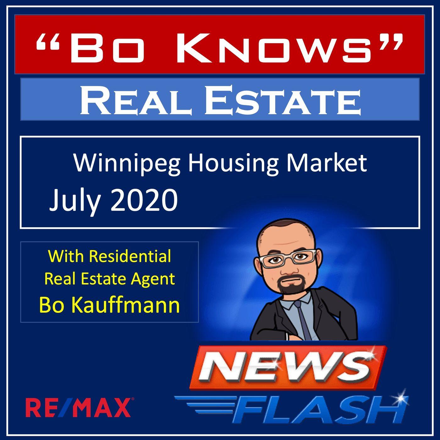 Winnipeg Housing Market July 2020