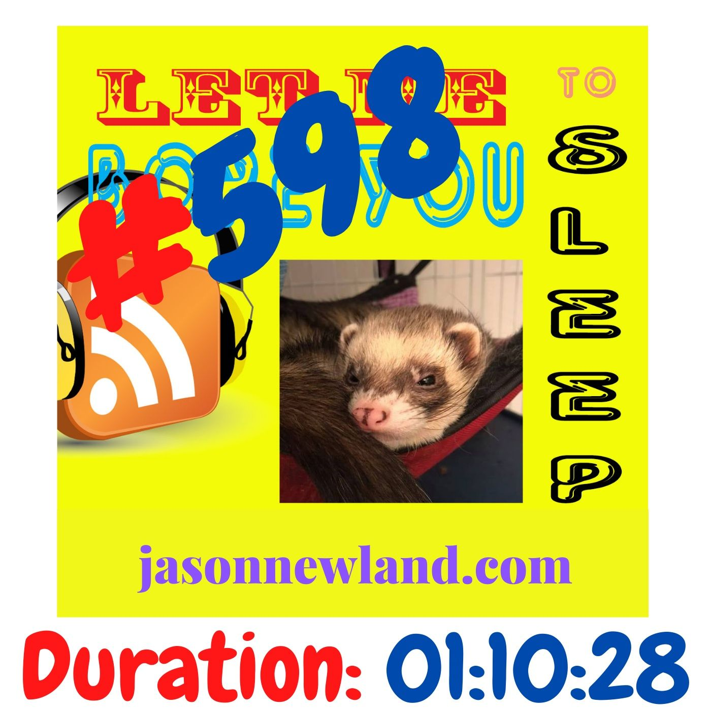"#598 Let me bore you to sleep ""TIMES I WAS SLIM"" - Jason Newland (19th February 2021)"