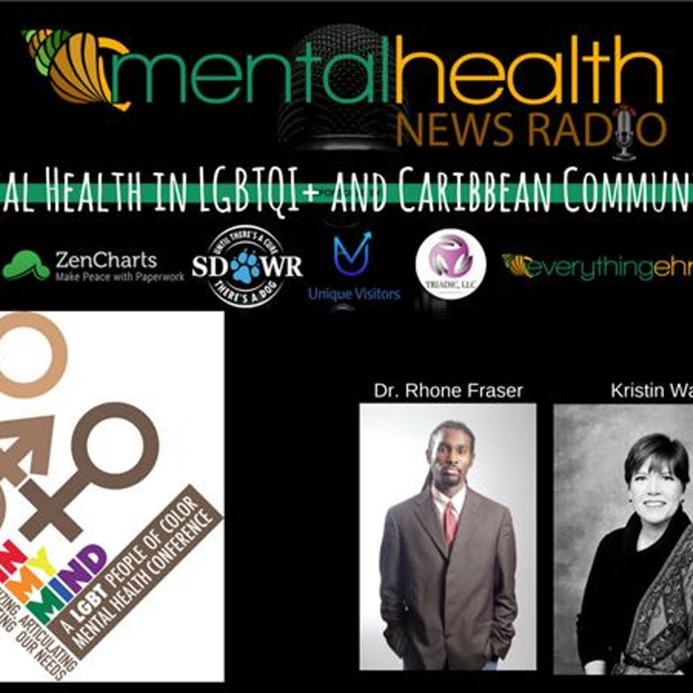 Mental Health News Radio - DBGM In My Mind Conference:  Mental Health in LGBTQI+ and Caribbean Communities