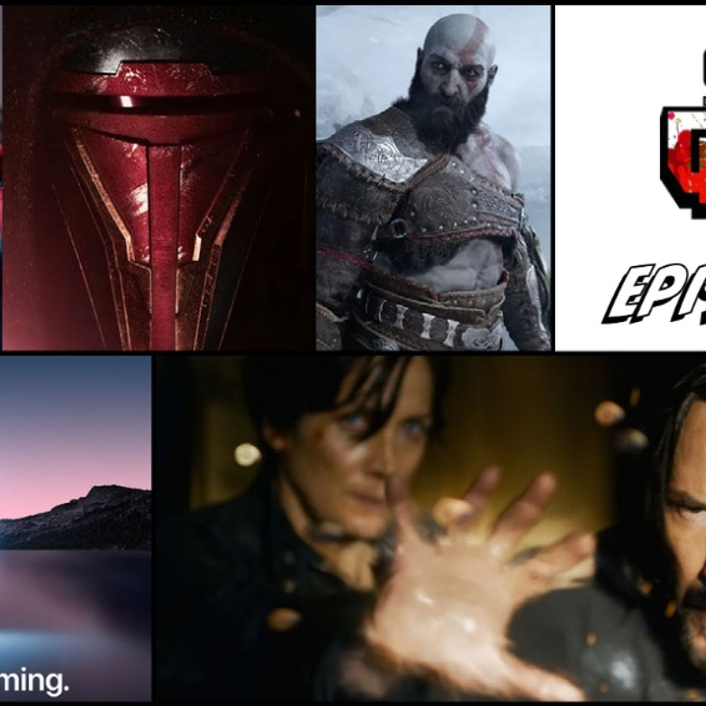 Episode 94 (PlayStation Showcase, The Matrix Resurrections, Apple Event, and more)