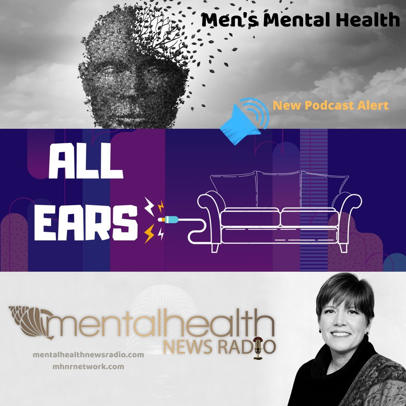 Mental Health News Radio - All Ears on Men's Mental Health