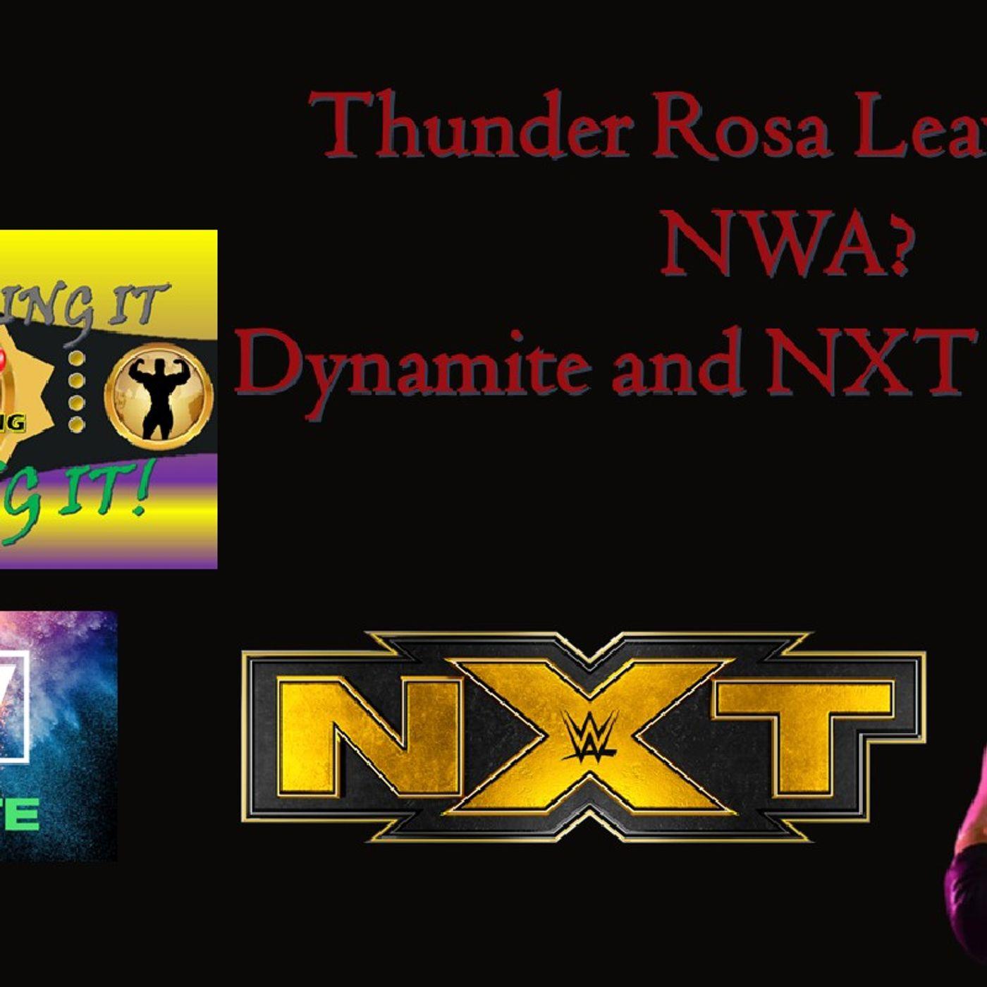 Thunder Rosa Leaving? NXT / AEW Reaction