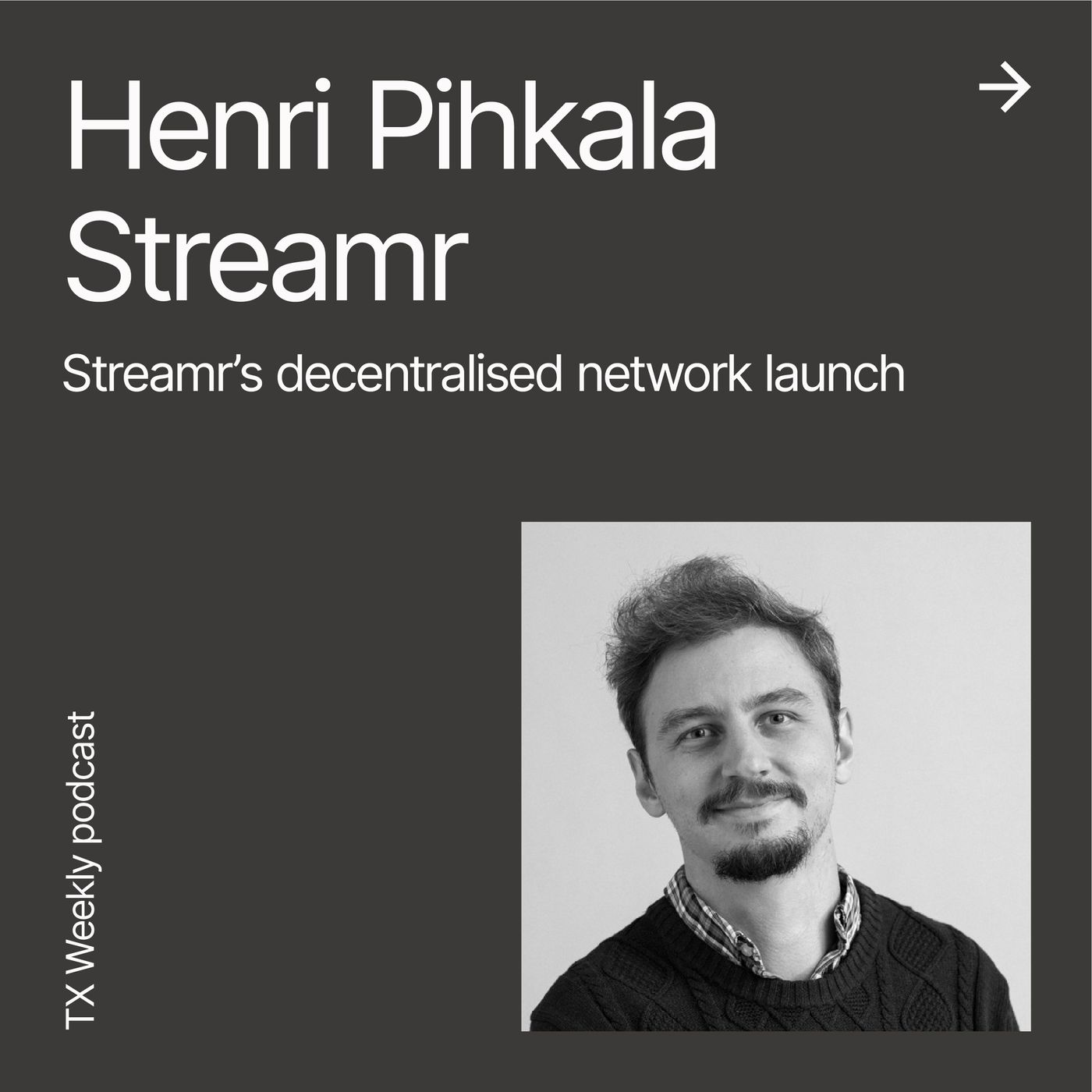 Streamr's decentralised network launch, with Co-founder Henri Pihkala