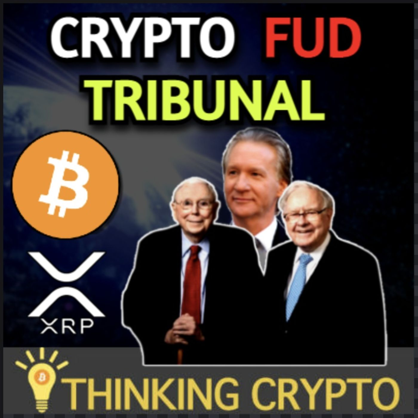 Bill Maher, Charlie Munger, & Warren Buffett Crypto FUD - Peter Brandt XRP Bull - Bitcoin Taproot