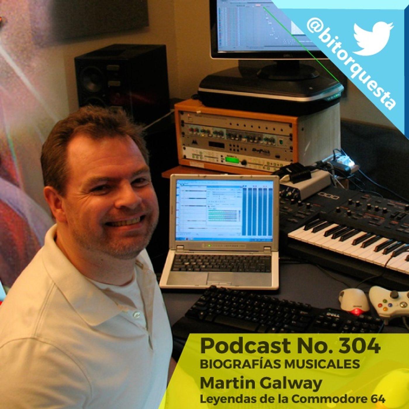 304 - Martin Galway, Leyendas de la C64, Biografías Musicales