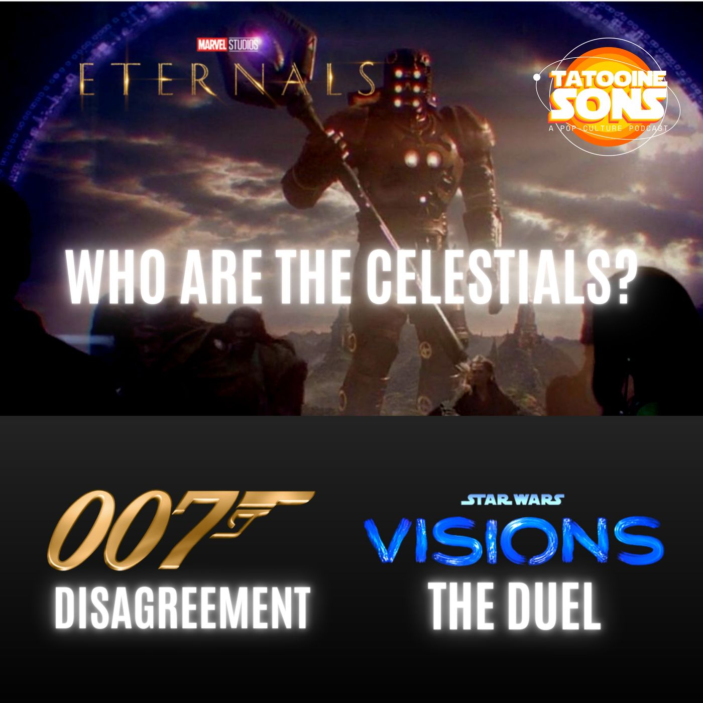 The Eternals - Who Are The Celestials?