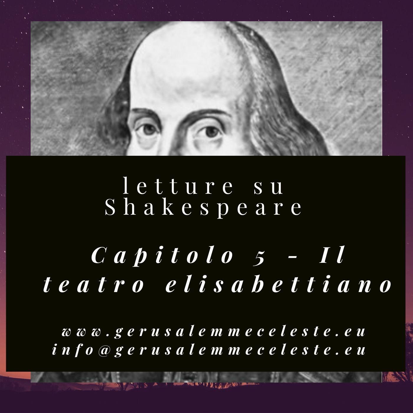 Capitolo 5 - Il teatro elisabettiano