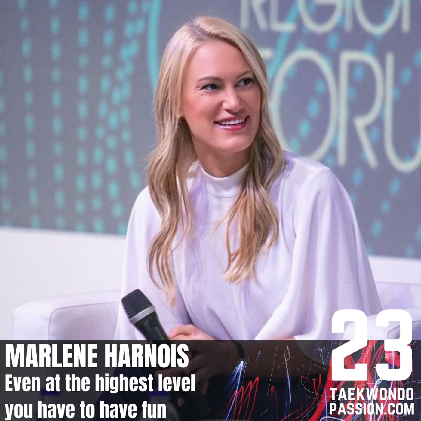 Marlene Harnois: Even at the highest level you have to have fun