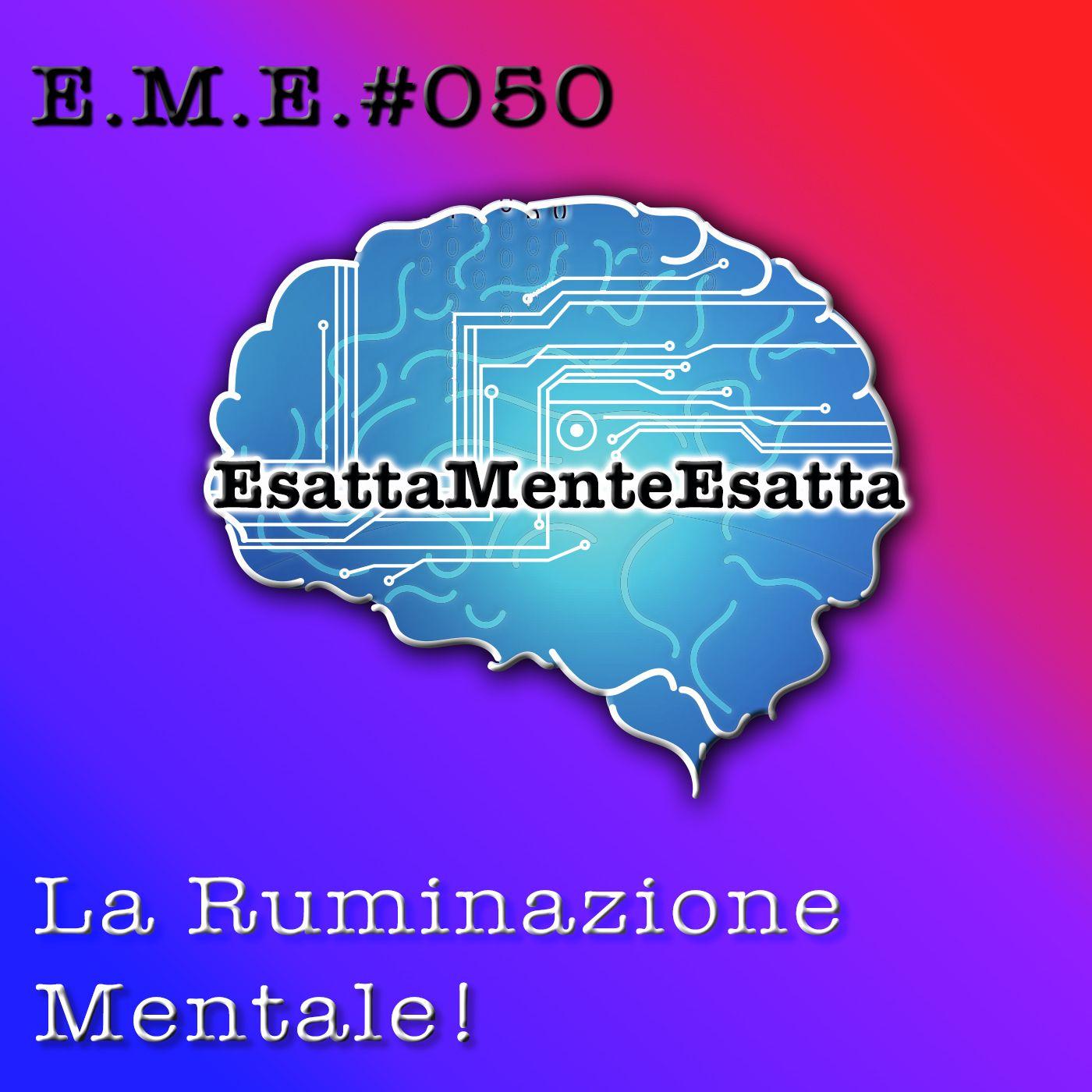 P.50 Il rimuginio mentale