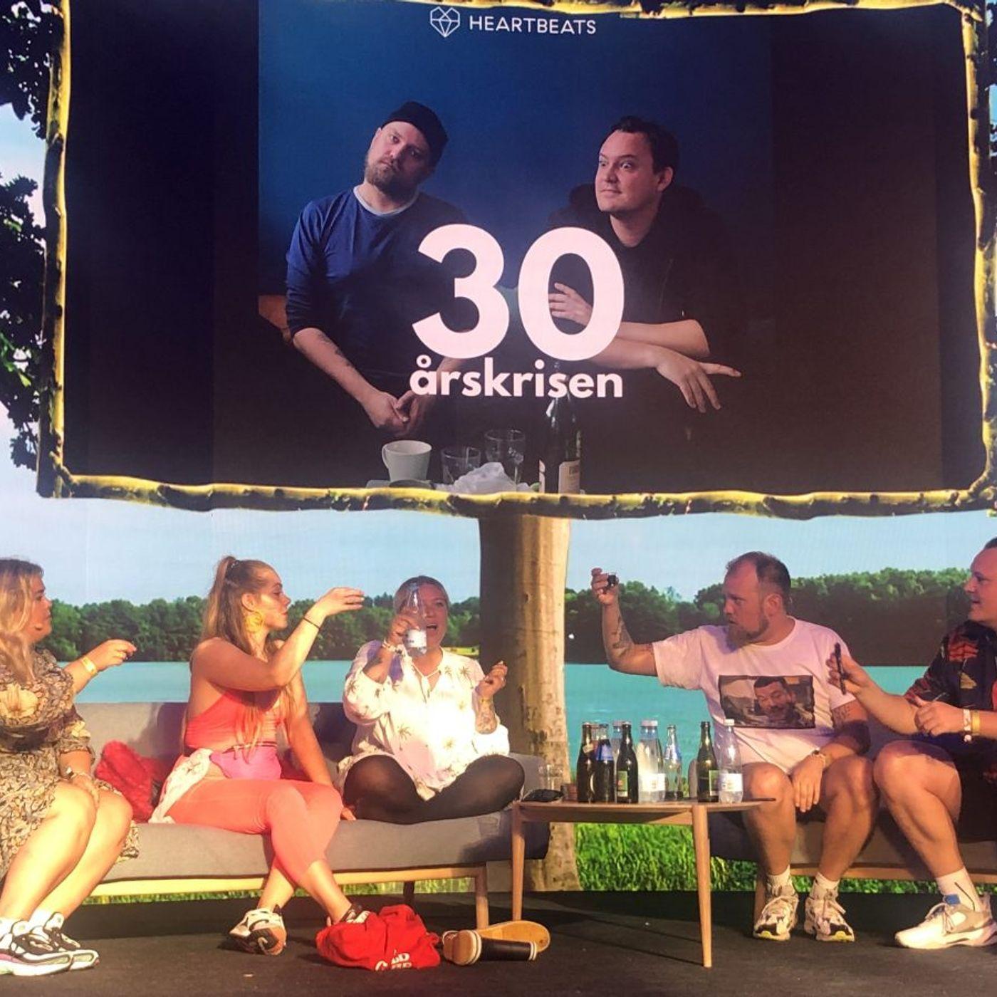 '30-årskrisen' på Smukfest: Ane Høgsberg, Sandie Westh og Louise Kjølsen er allstars-panelet