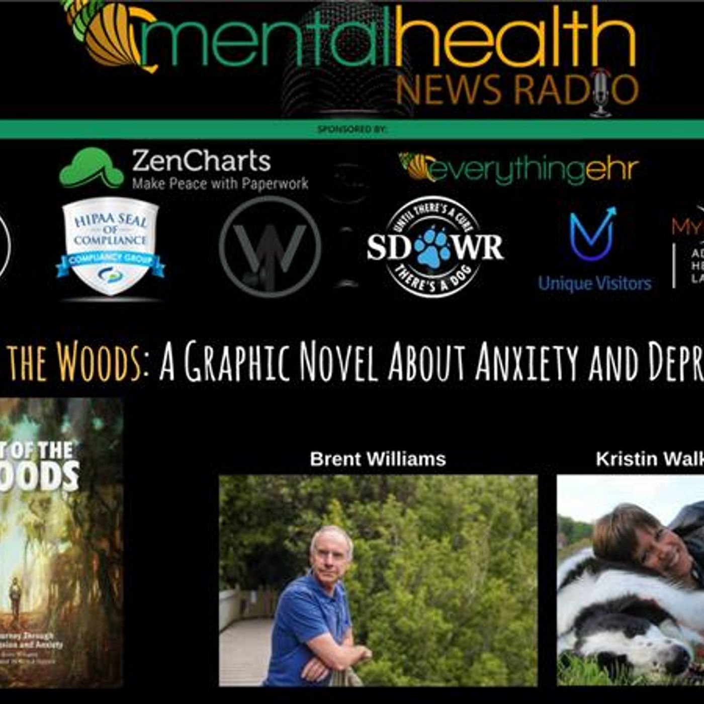 Mental Health News Radio - Out of the Woods: A Graphic Novel About Anxiety and Depression
