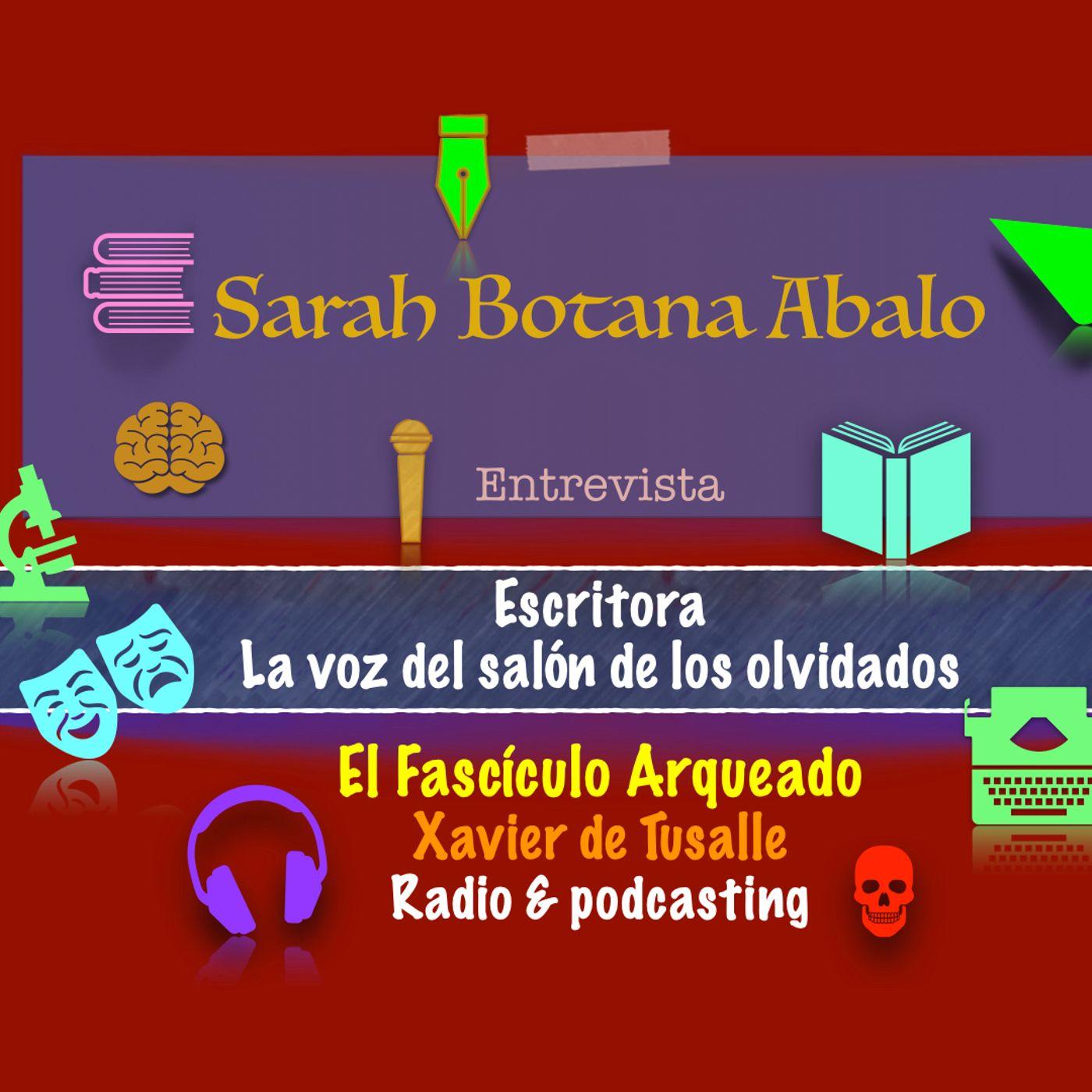 Interesante charla con la escritora Sarah Botana Abalo