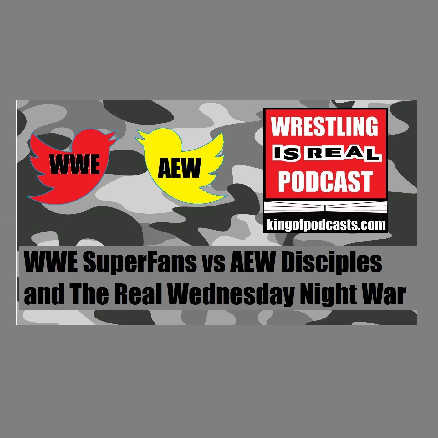 WWE SuperFans vs AEW Disciples and The Real Wednesday Night War KOP 11.14.19