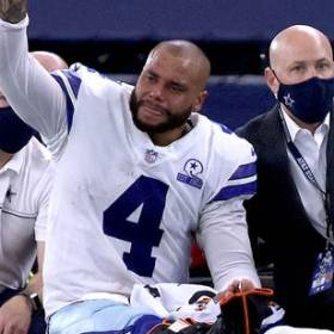 About Dak Prescott's Ankle Injury and the NBA Virtual Combine