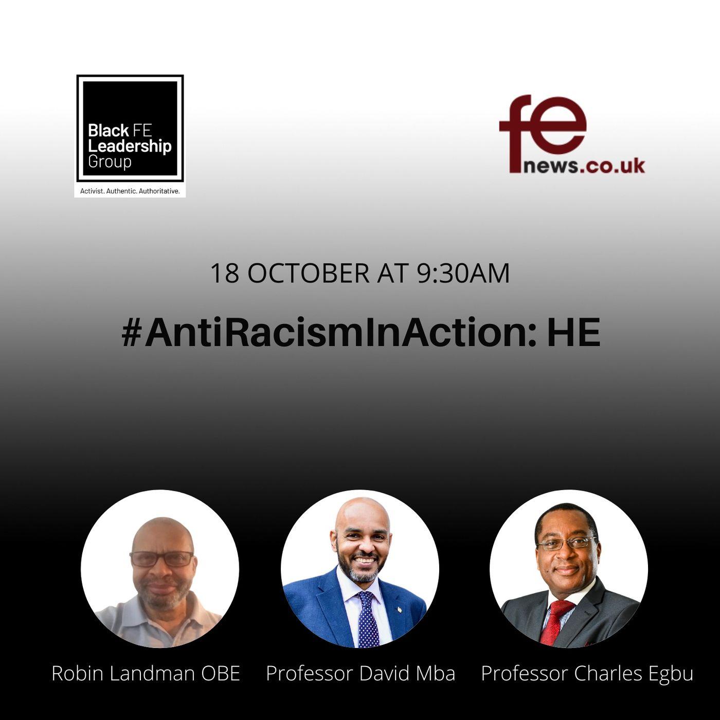#AntiRacismInAction: Higher Education   Episode 3