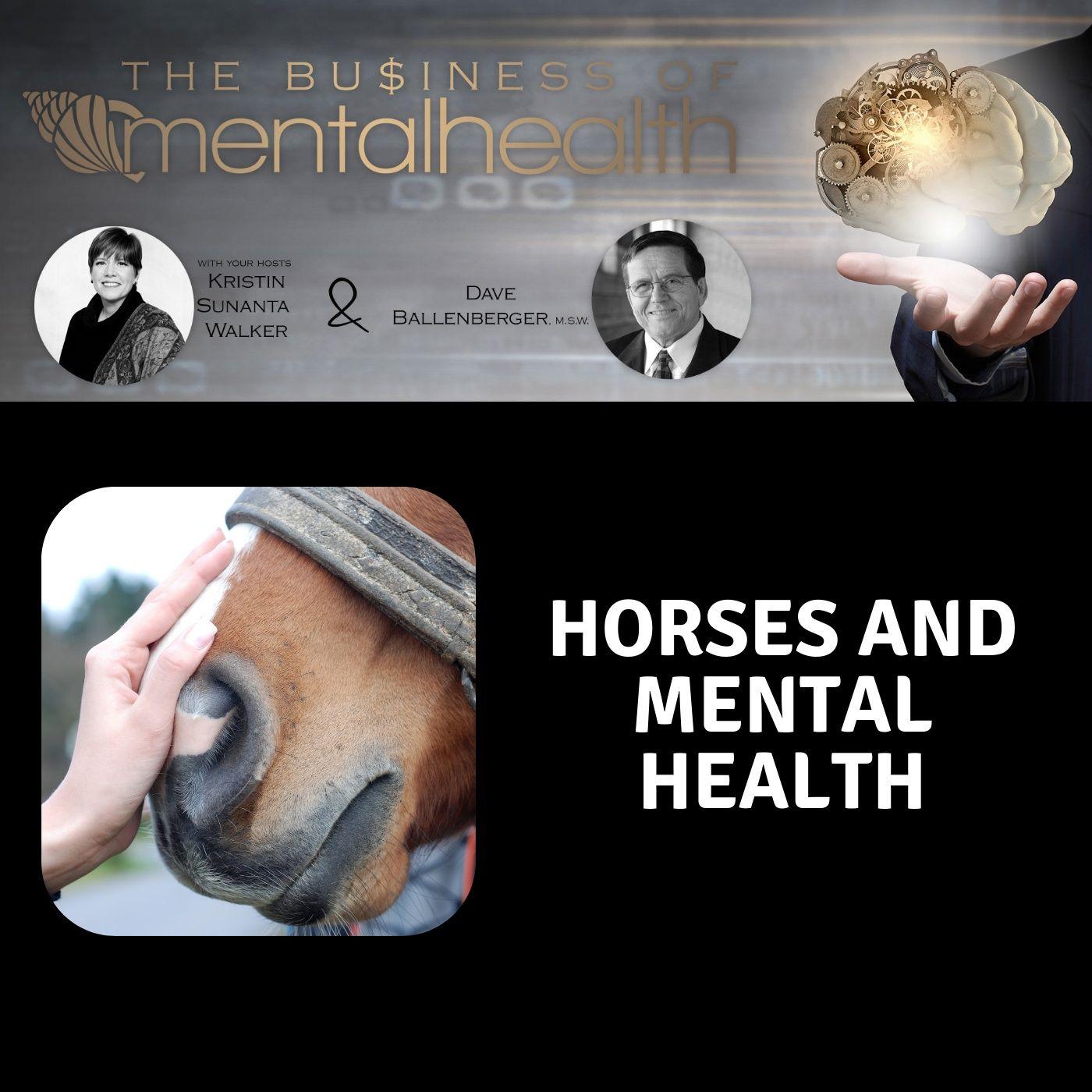 Mental Health News Radio - Mental Health Business: Horses and Mental Health