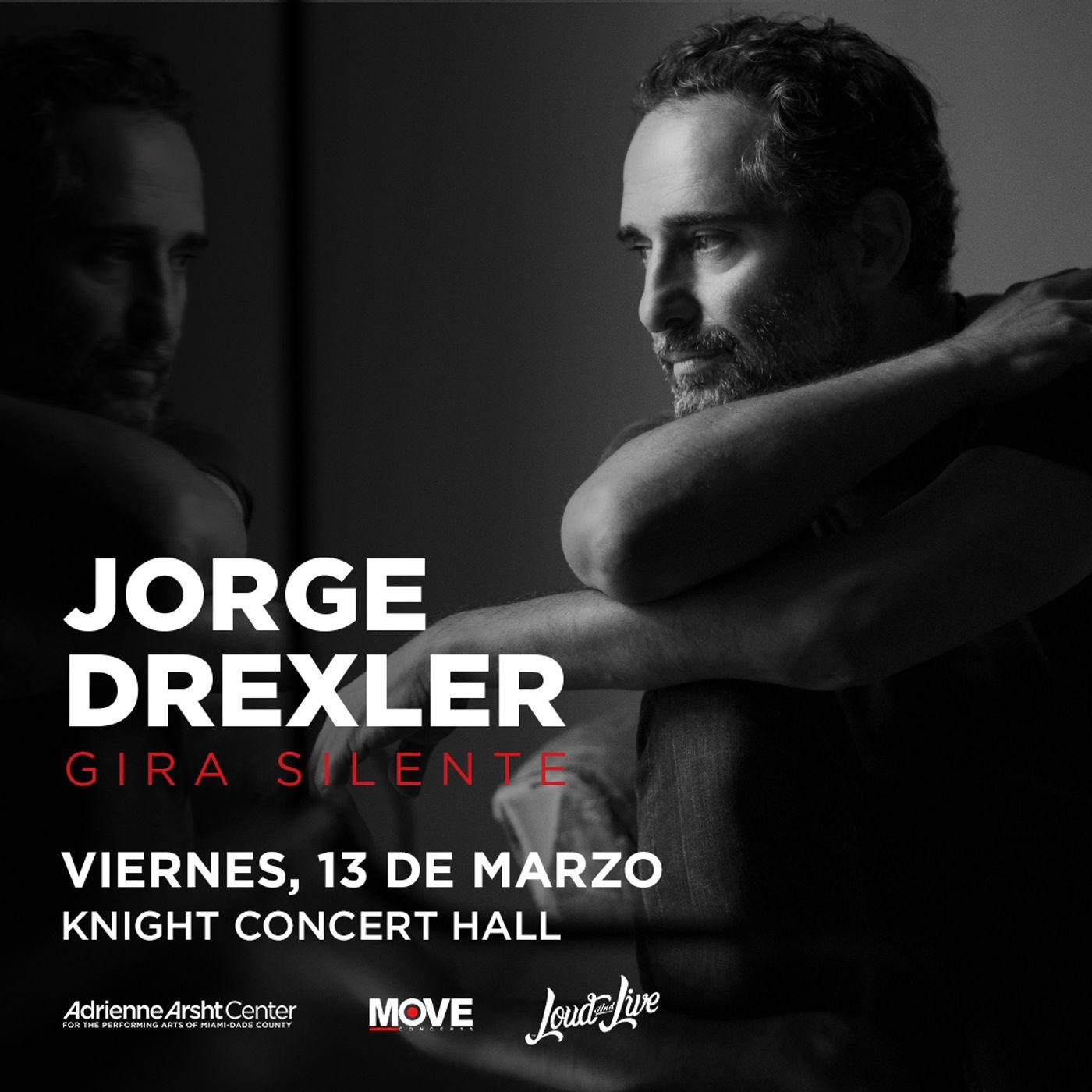 Conversación con Jorge Drexler hablando de su gira SIlente (Audio)