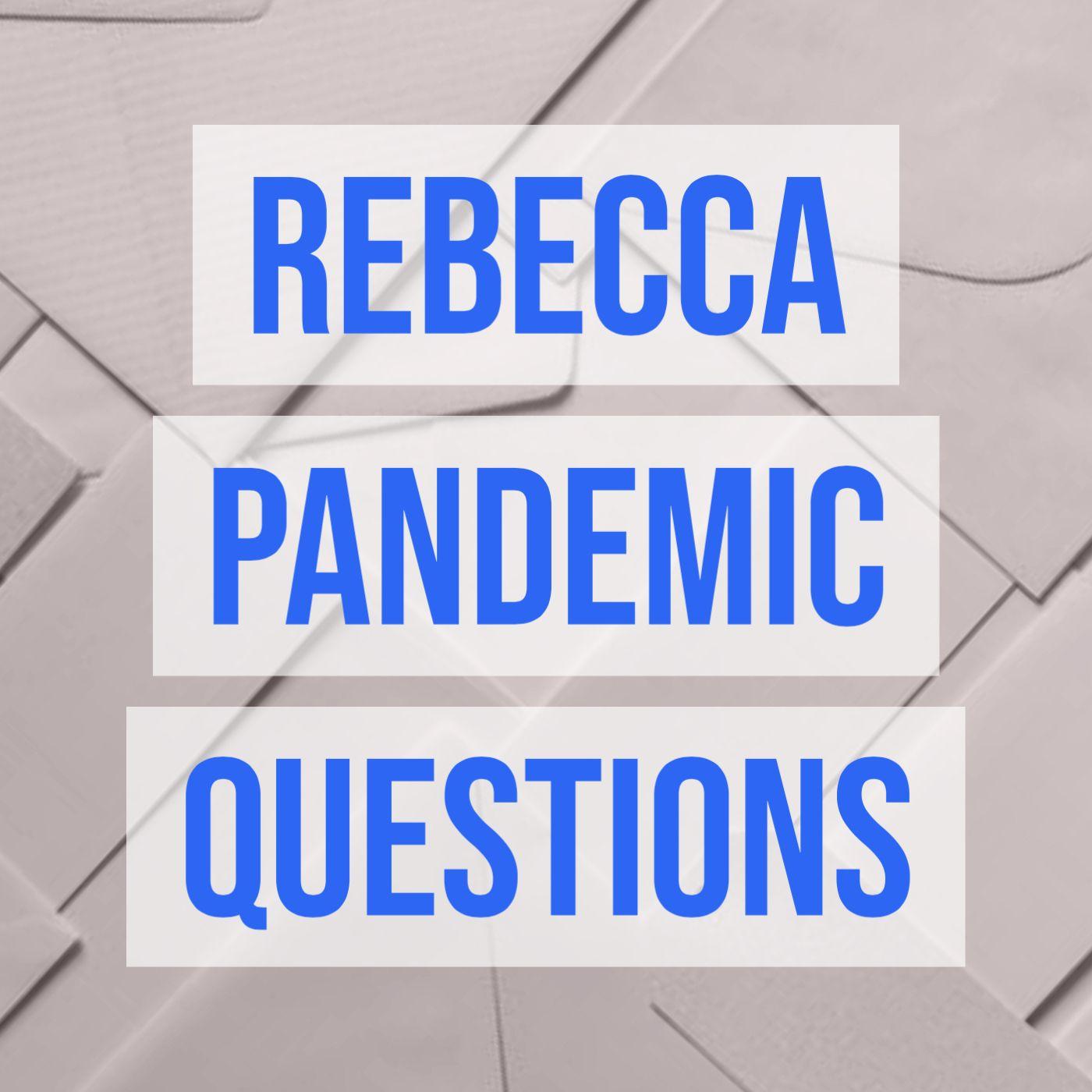 Rebecca Pandemic Questions
