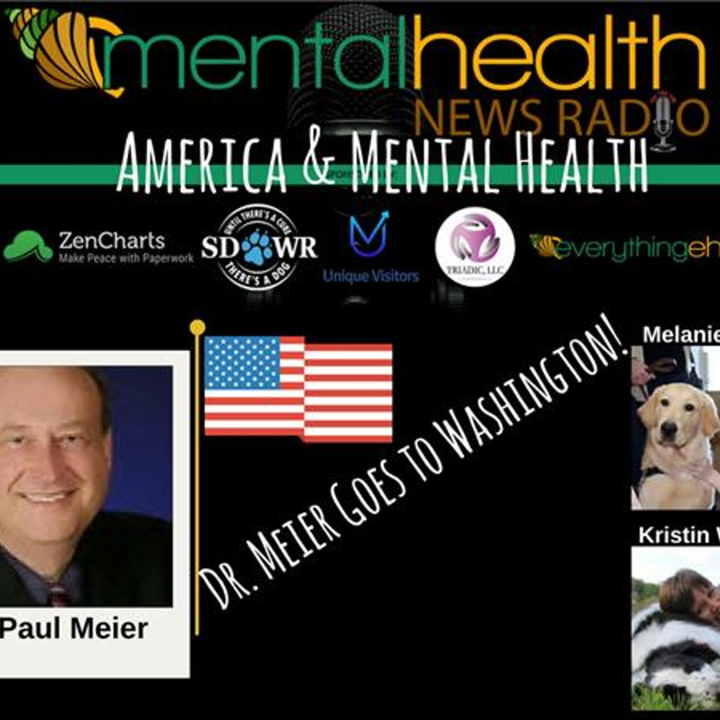 Mental Health News Radio - America & Mental Health: Dr. Paul Meier Goes To Washington