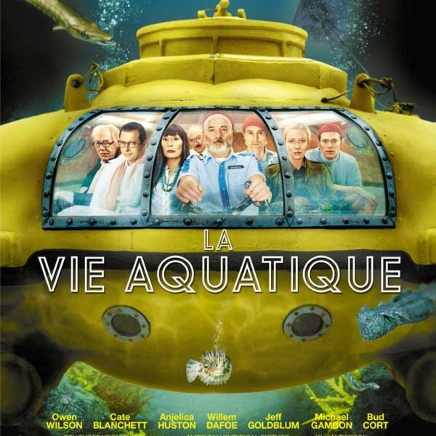 PODCAST CINEMA | critique du film LA VIE AQUATIQUE | CinéMaRadio