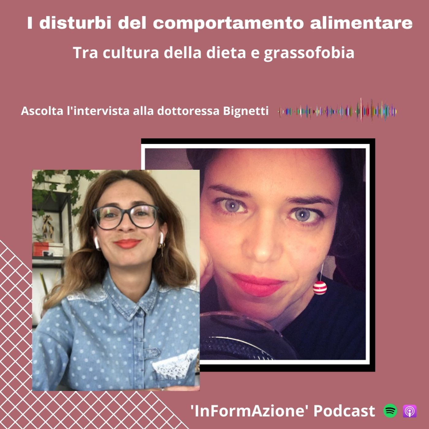 Ep. 14 - I disturbi alimentari tra cultura della dieta e grassofobia, intervista a Veronica Bignetti