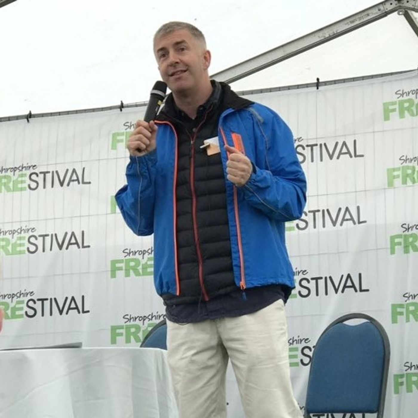 My Talk on Allergies and Epigenetics at Shropshire Frestival May 2019