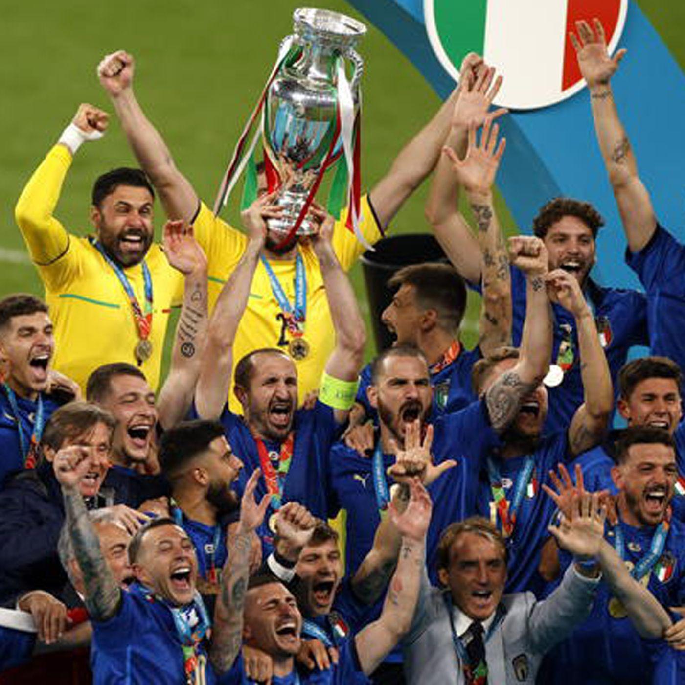 Italian Job, azzurri campioni d'Europa ai rigori