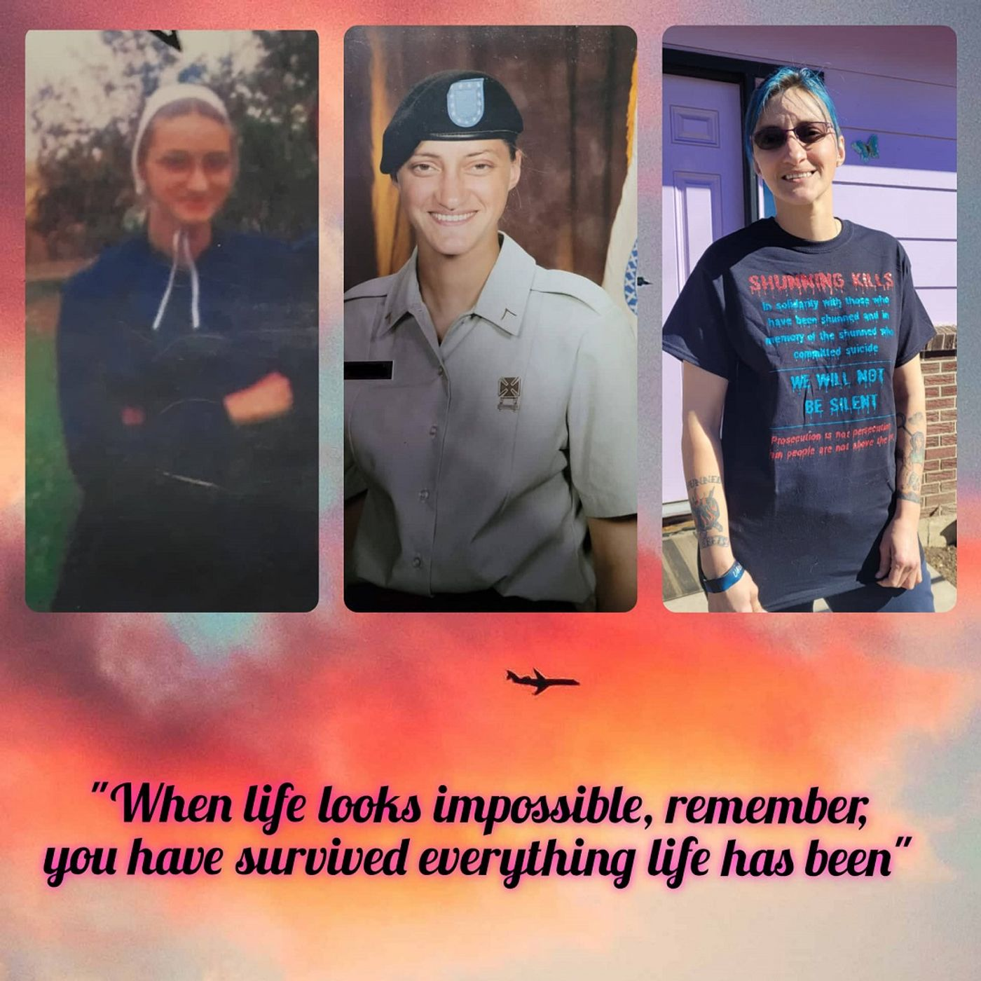 Episode 144: Mary Byler - From Amish Survivor to Army Thriver