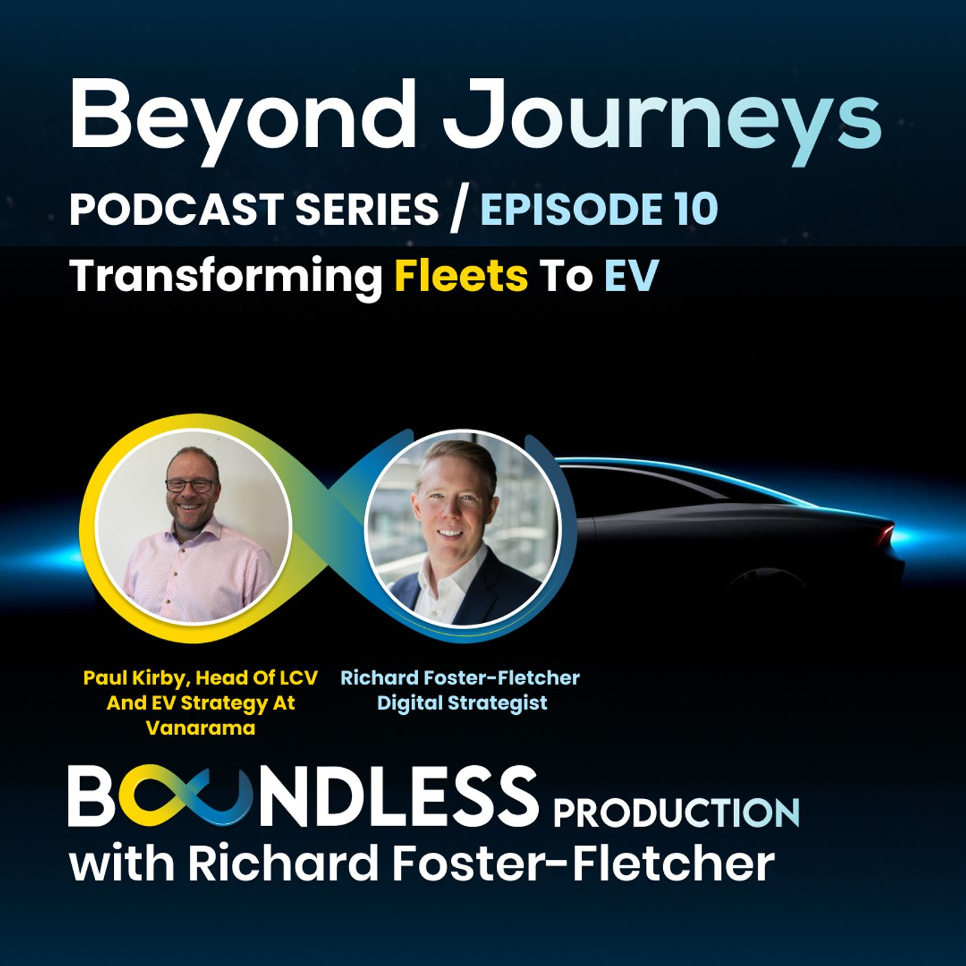 EP10 Beyond Journeys: Paul Kirby, Head of LCV and EV Strategy at Vanarama: Transforming fleets to EV