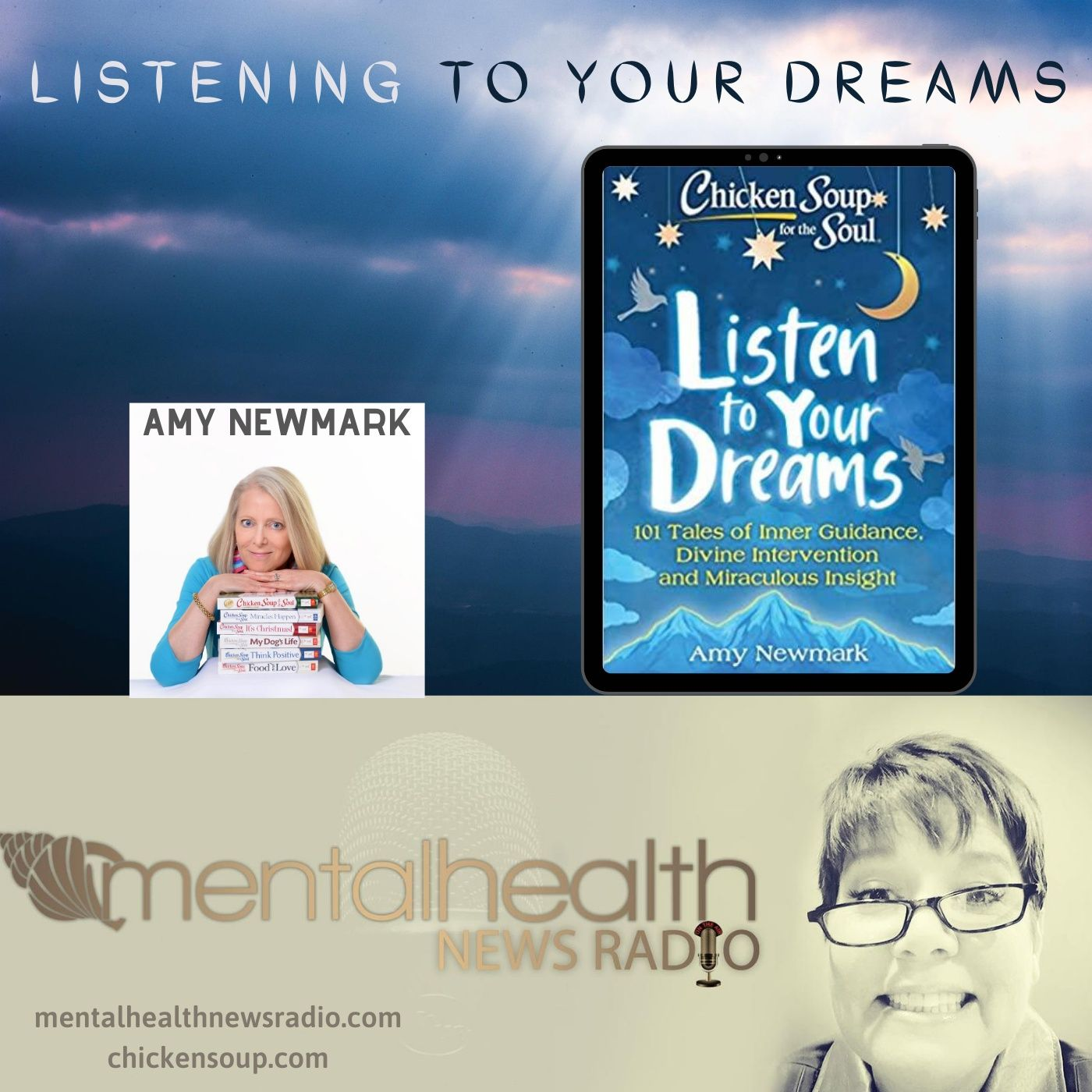 Mental Health News Radio - Listening to Your Dreams with Amy Newmark